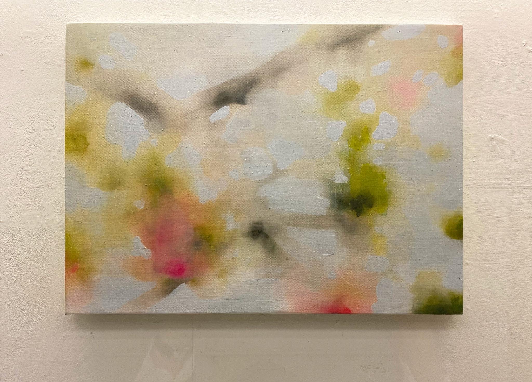 遠くになって,333×220,キャンバス、油彩,2020