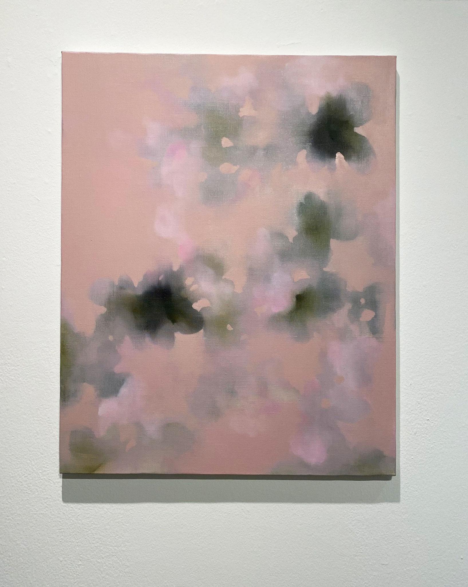 めをうつる,652×530,キャンバス、油彩,2020