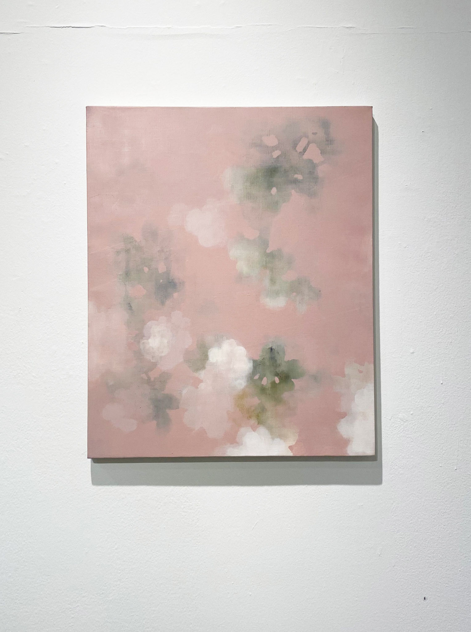 ねつひらくも,606×500,キャンバス、油彩,2020