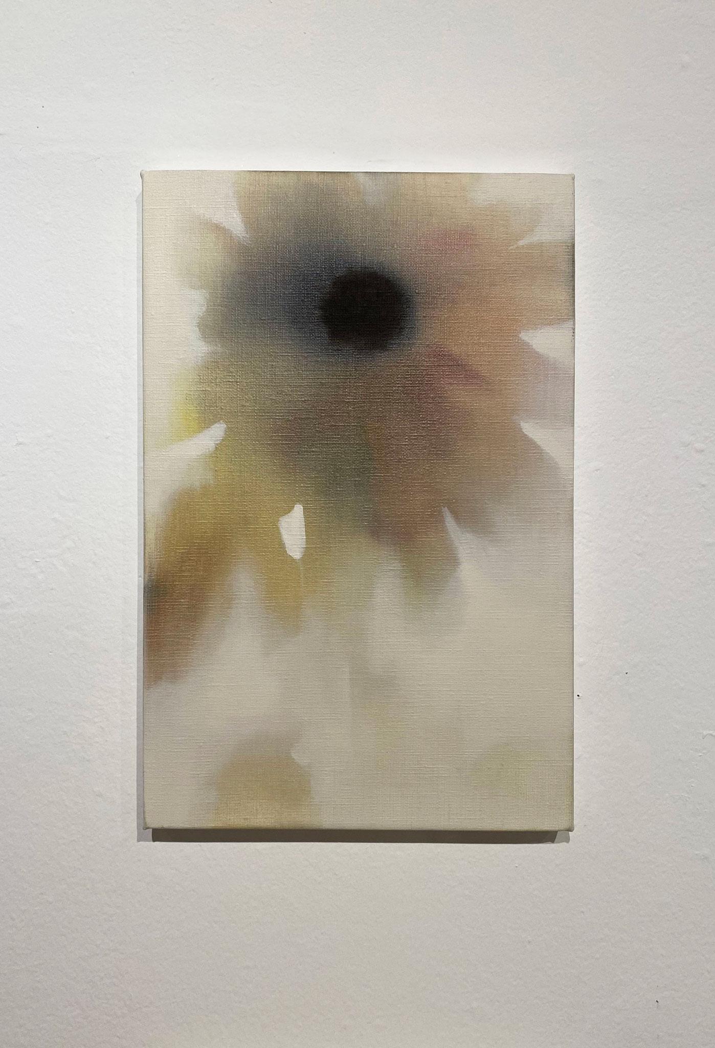ひまわり,333×220,キャンバス、油彩,2020