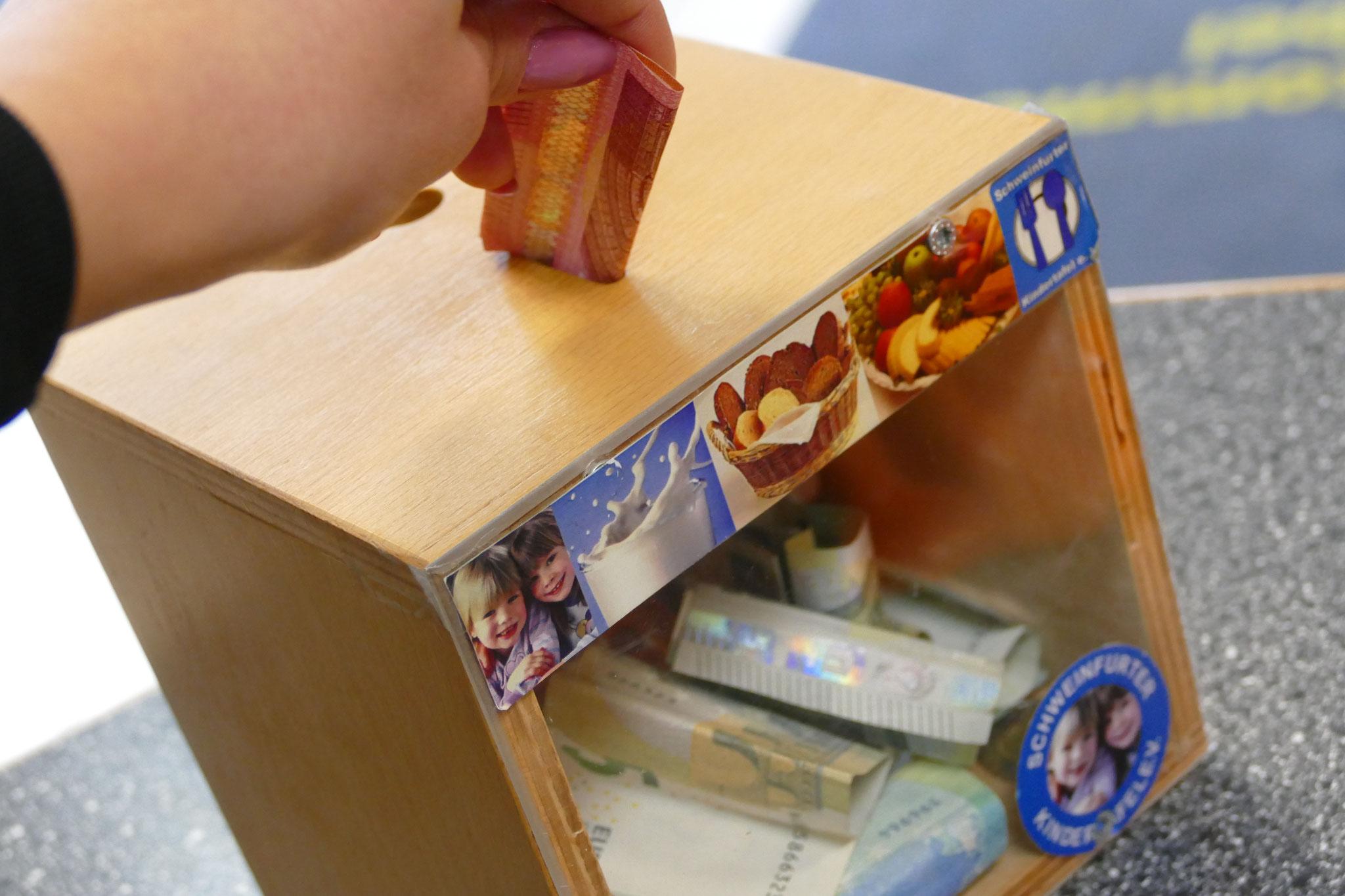 Spendenbox Kindertafel Schweinfurt