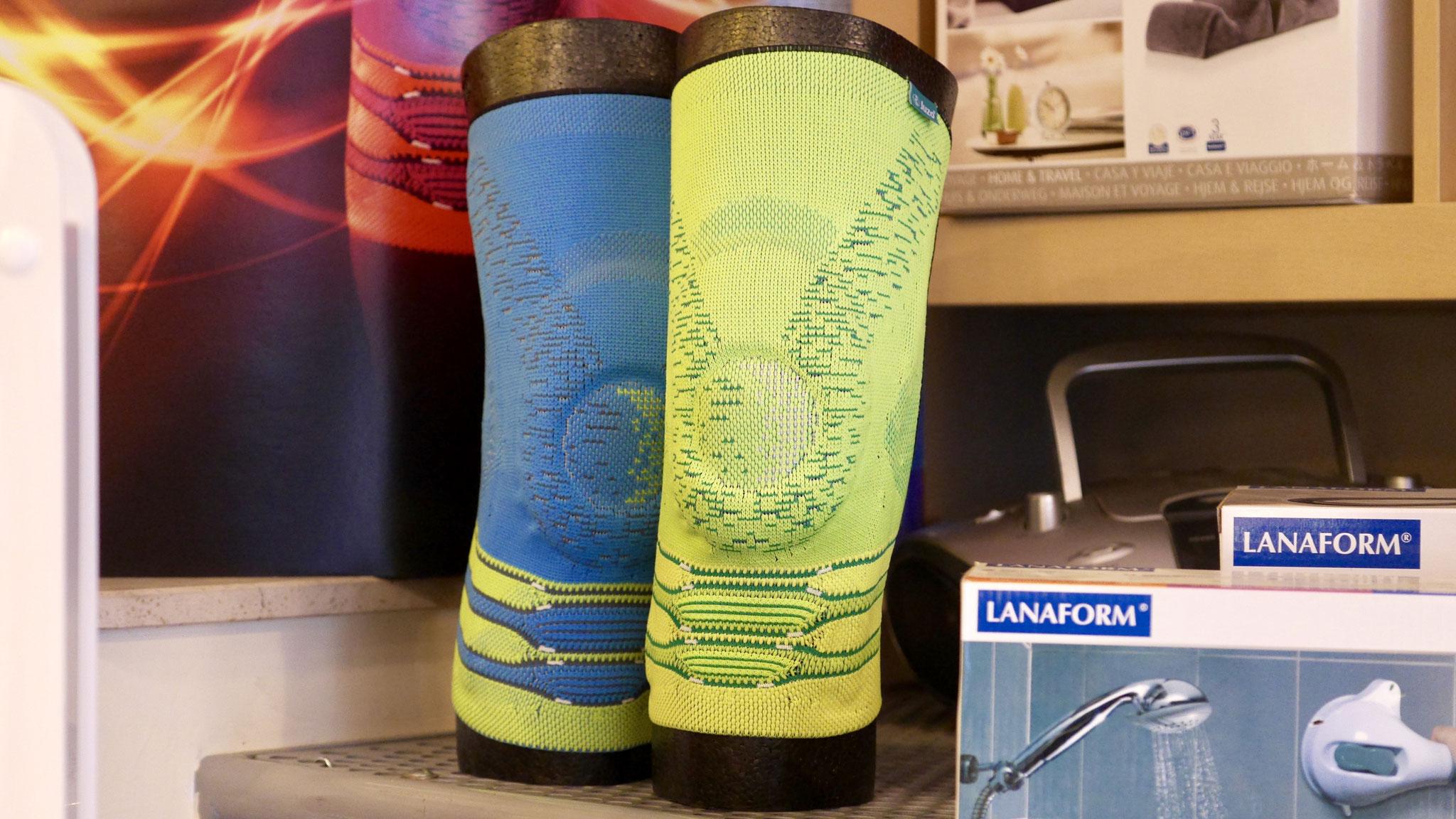 Bandages du genou chez Luc Médical