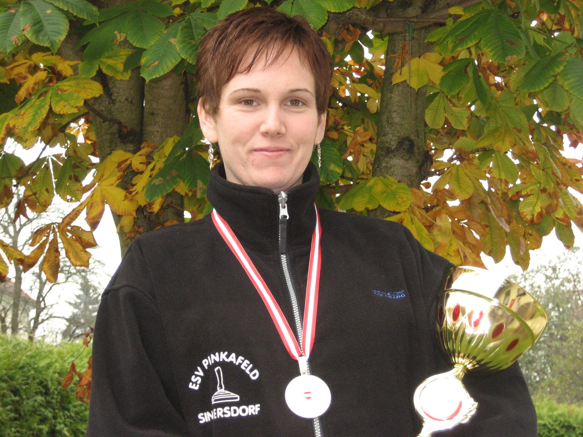 Bernadette Koller, 2. ÖM Ziel U23 Winter 2007/2008