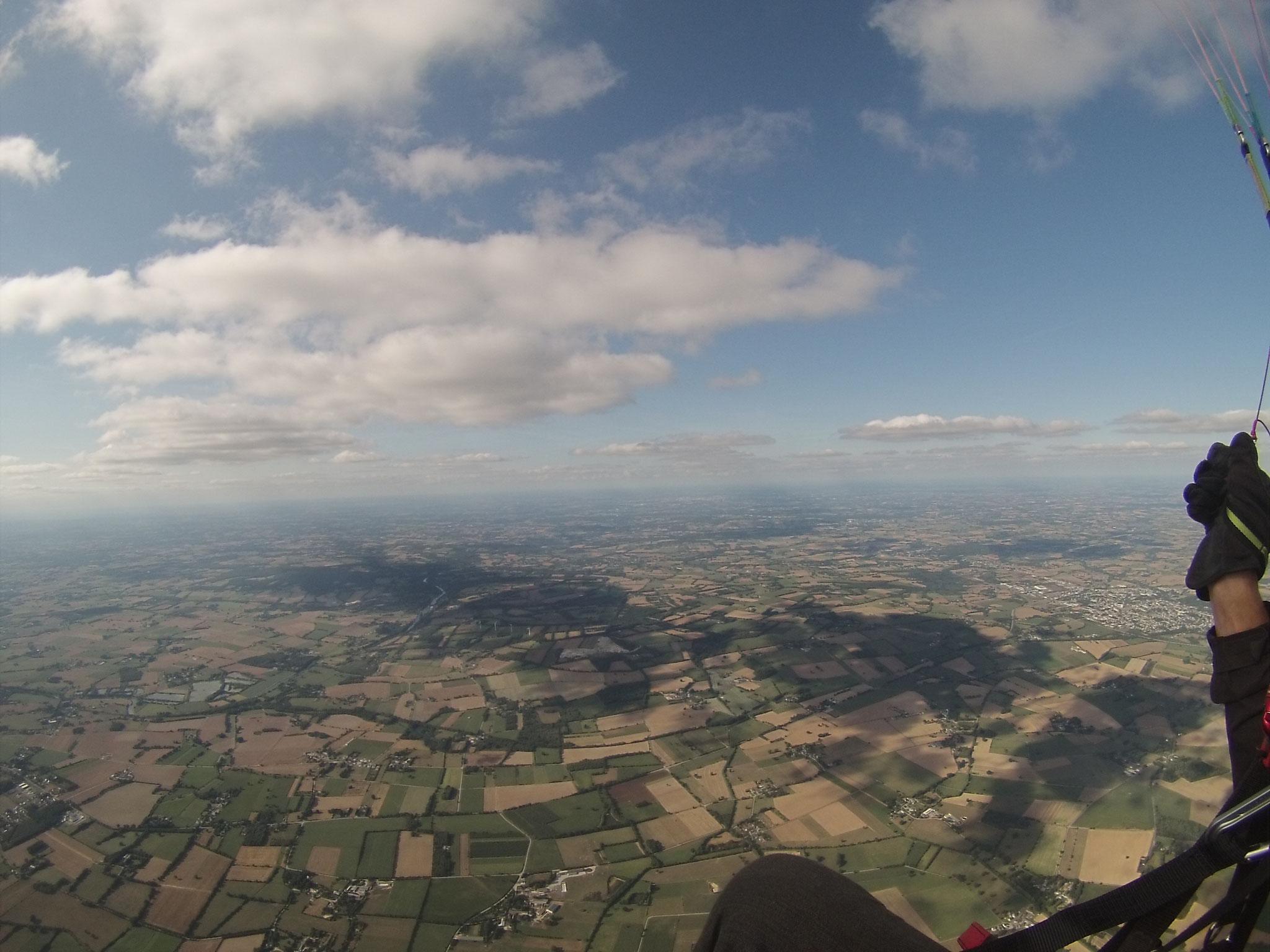 La Noé Blanche, 1300m d'altitude ! il faudra au moins 15mn pour redescendre !