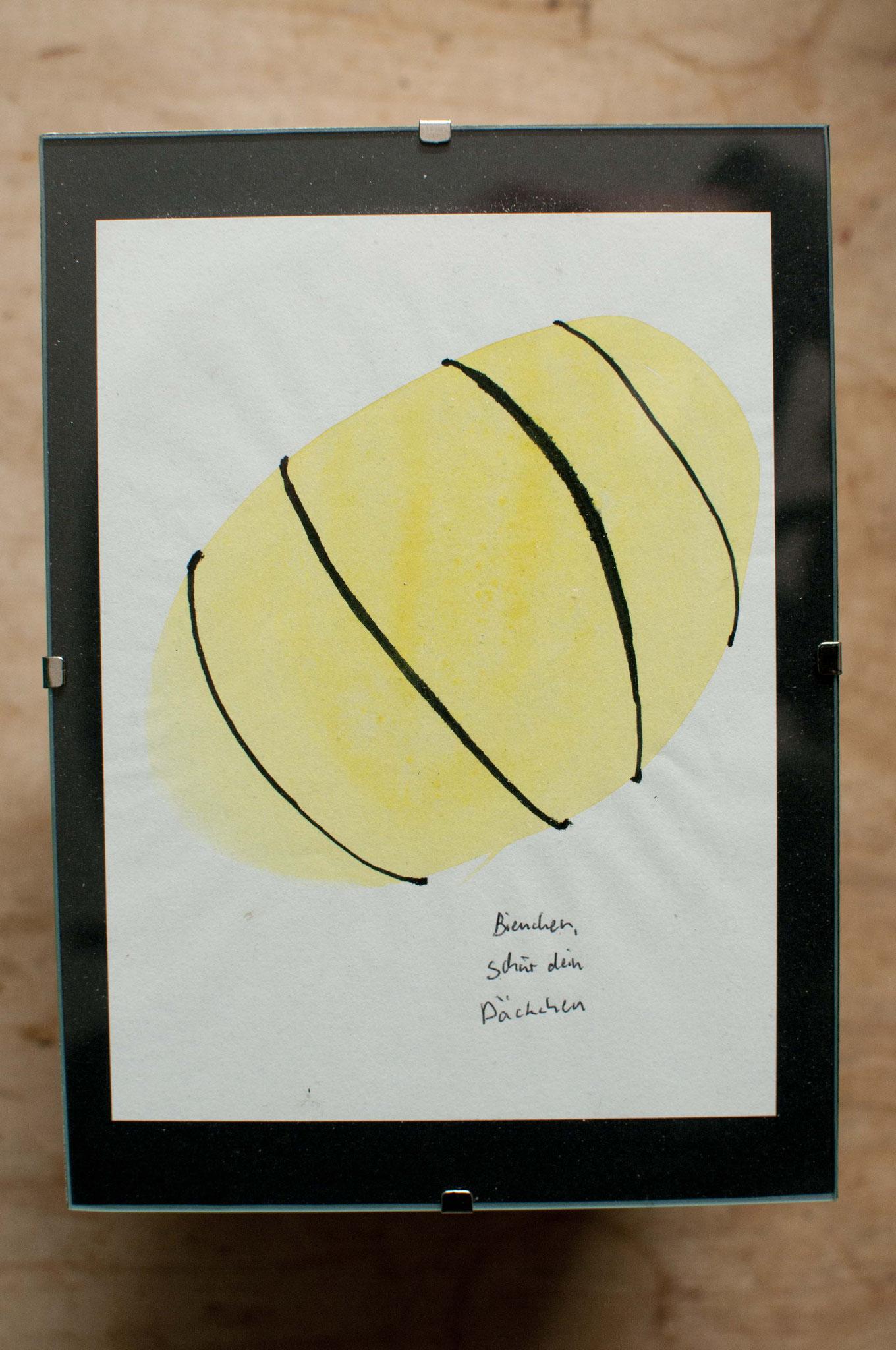 Bienchen schnür dein Päckchen
