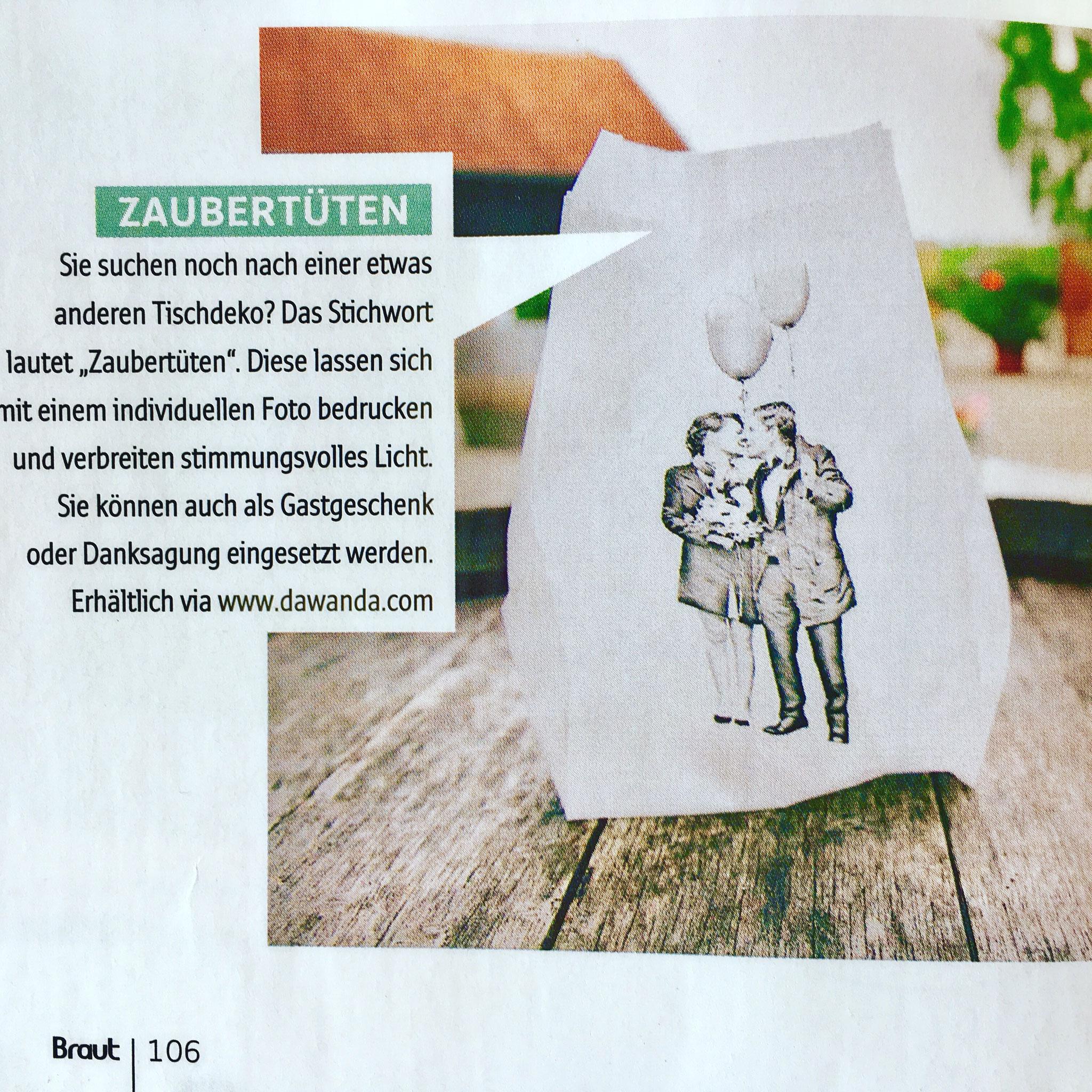 Braut & Bräutigam Magazin, Ausgabe 4/2016