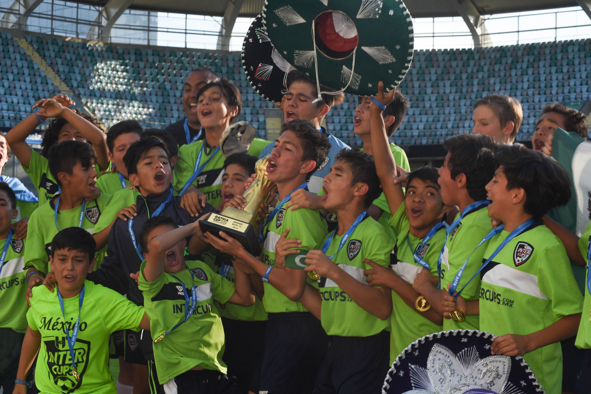 "CAMPEON ""A"" / GOTHIA CUP 2016 / B-13"