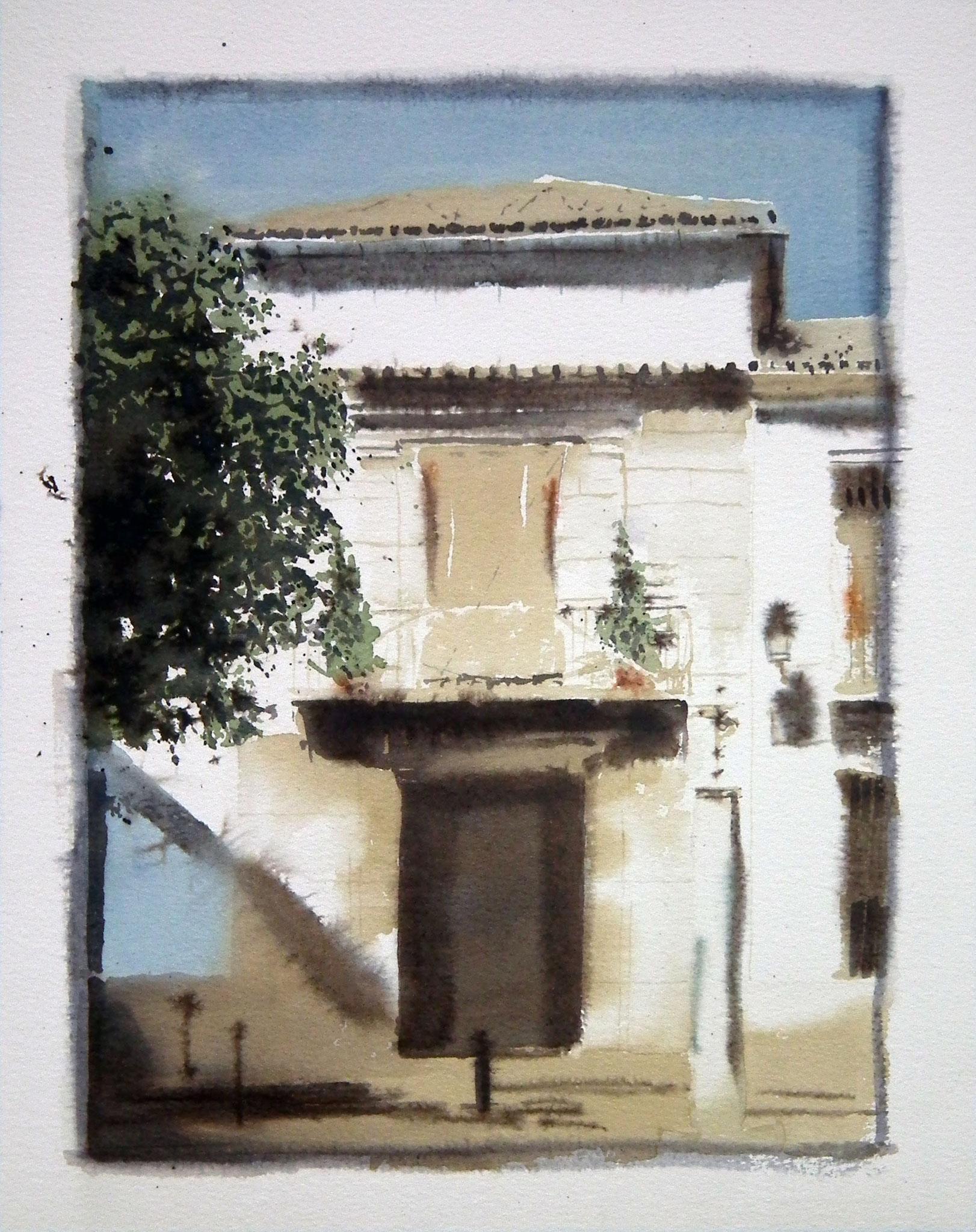 40x30 cm. Acuarela sobre papel Arches 300 gr. Colección particular.