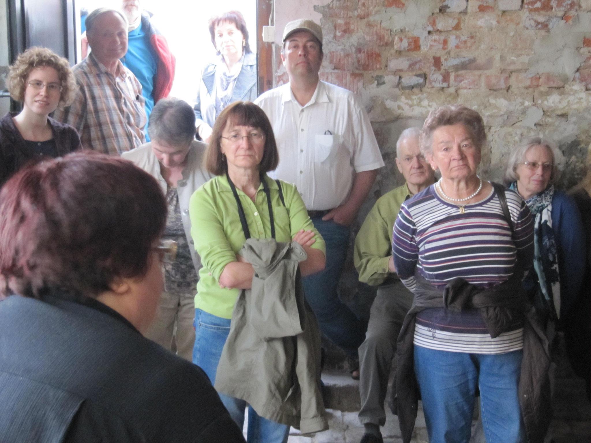 Im ehem. Stall eines jüdischen Viehhändlers