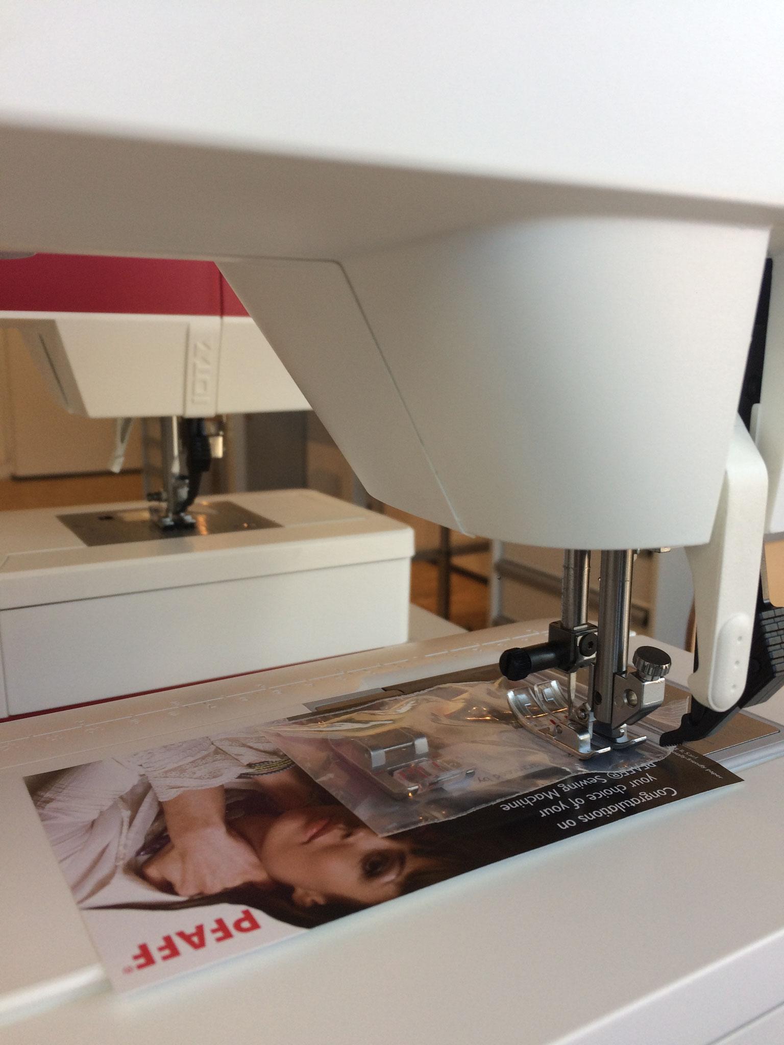 Einen ersten Einblick in den Textilbereich.