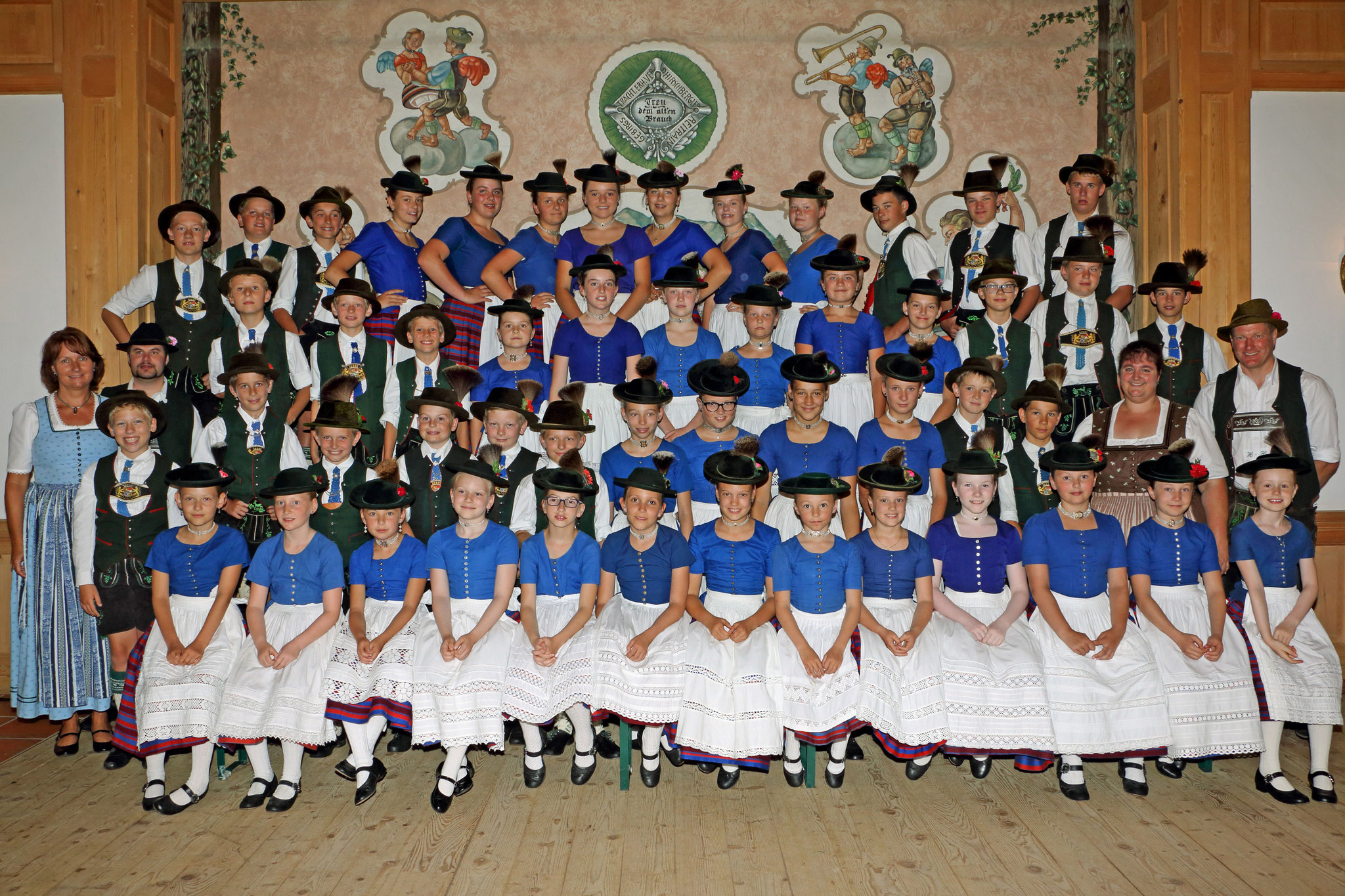 Die Hirschbergler Jugend 2017