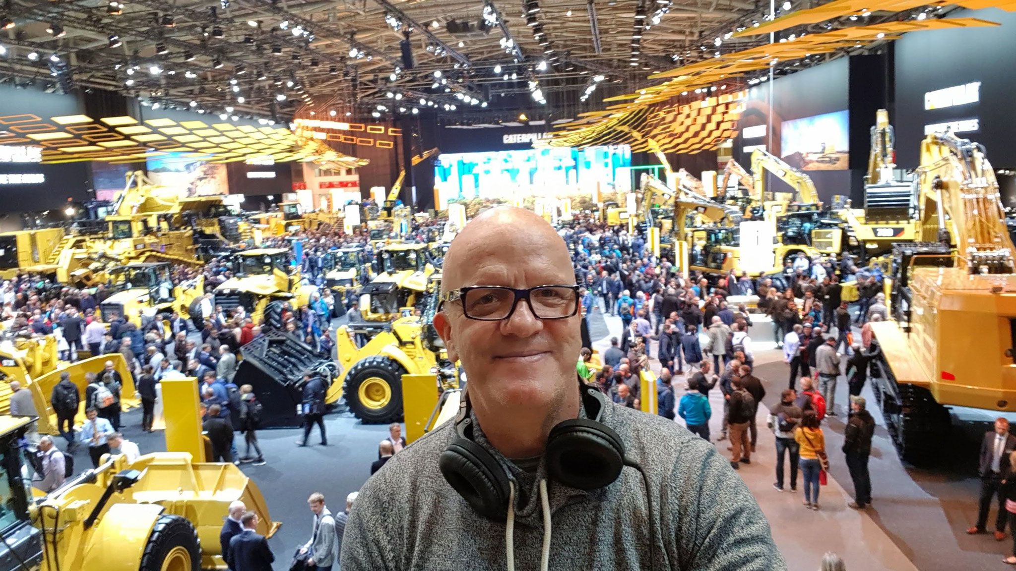DJing @ biggest Fair in the World - BauMa Munich