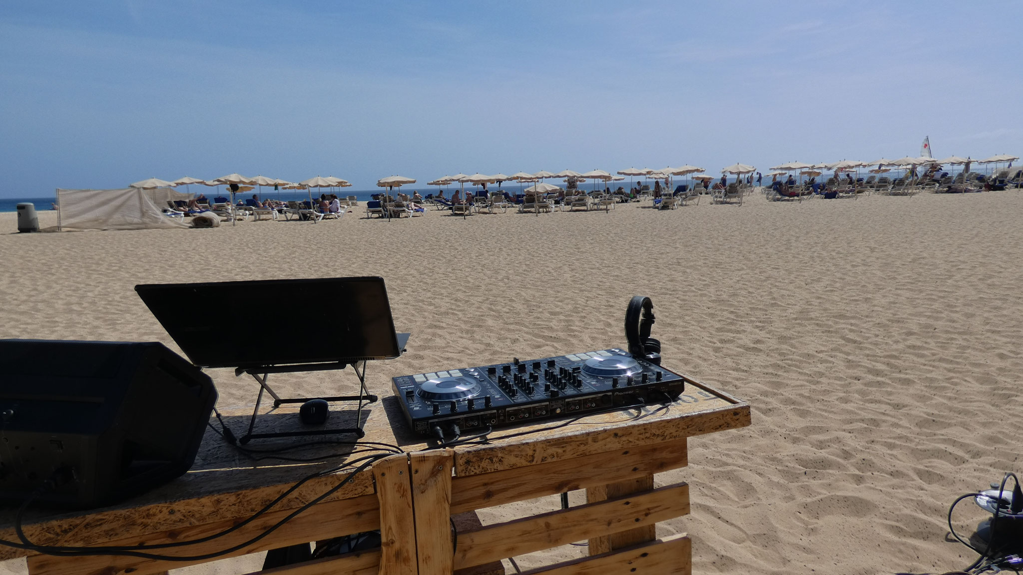 Beach Party @ Fuerteventura Spain