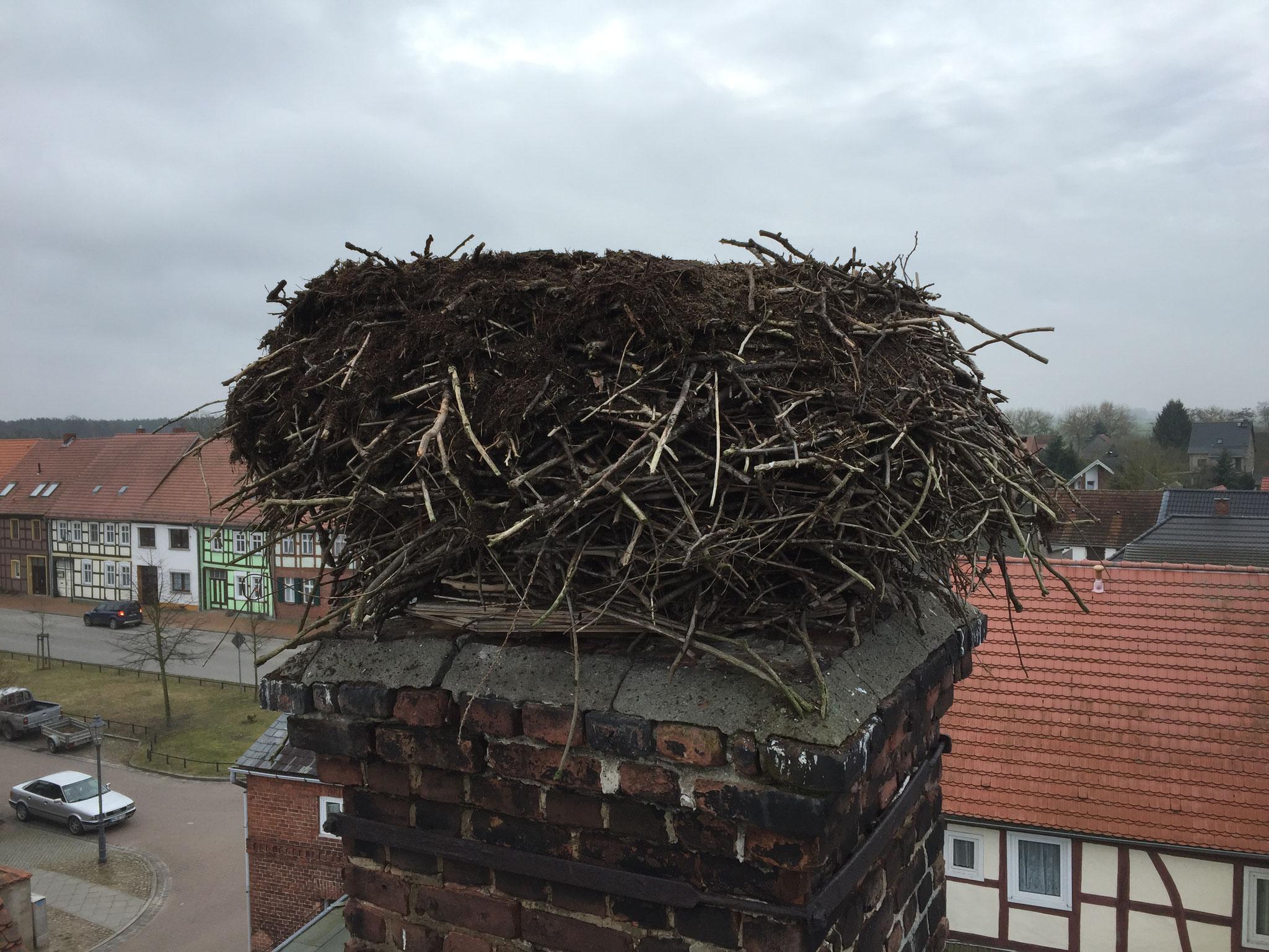 Bad Wilsnack: Zur Stabilitätssicherung wurden mehrere Schichten abgetragen (NACHHER).
