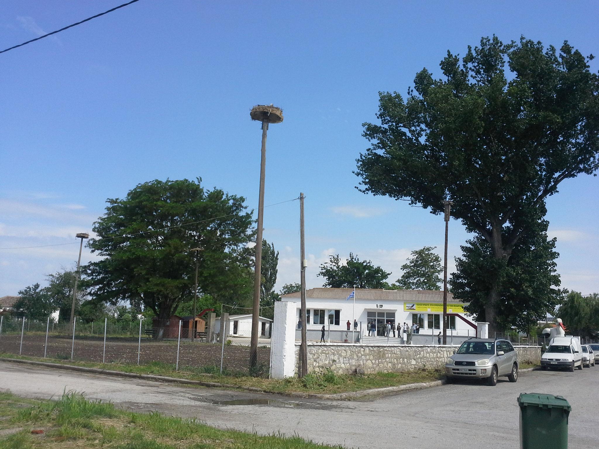 Das Treffen fand in der alten Grundschule in Poros statt