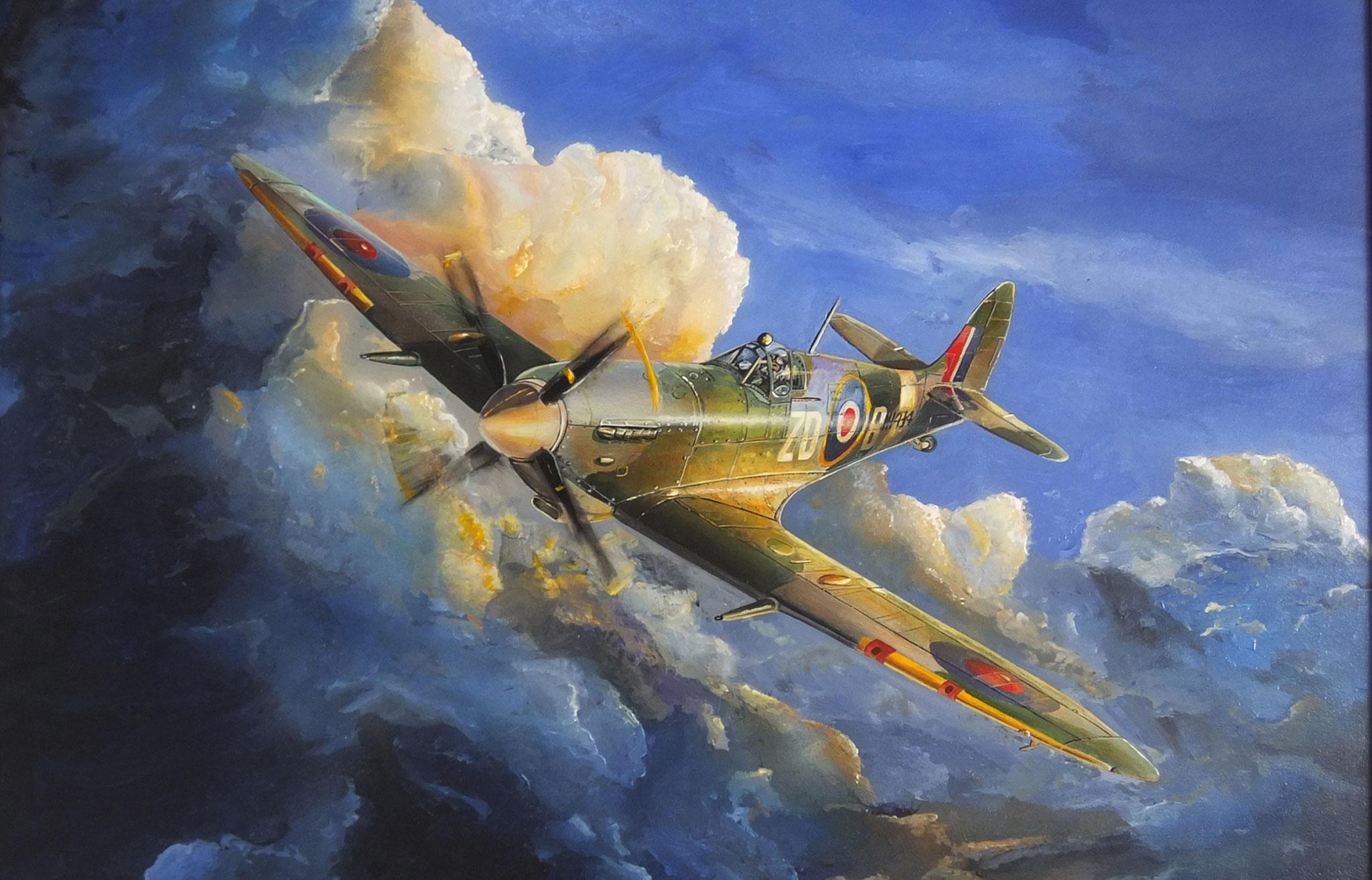 Sullivan_Spitfire_Aviation_Art