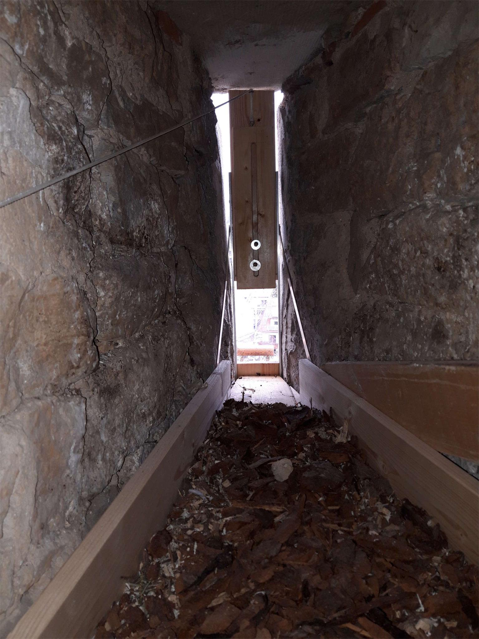 Falk-Brutnische von innen; Foto: Privat