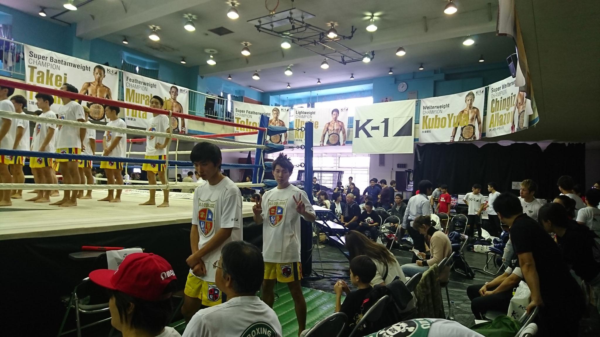 K-1カレッジ 奈良県から出場