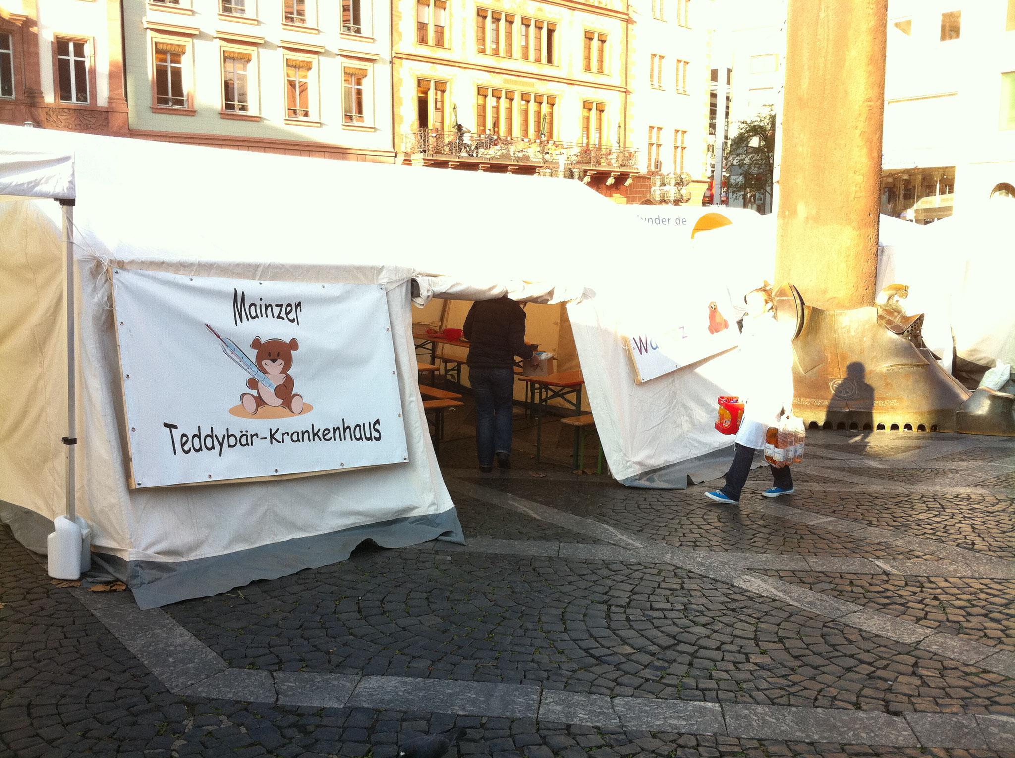 Mainzer Teddykllinik nimmt Kindern die Angst beim Doktor
