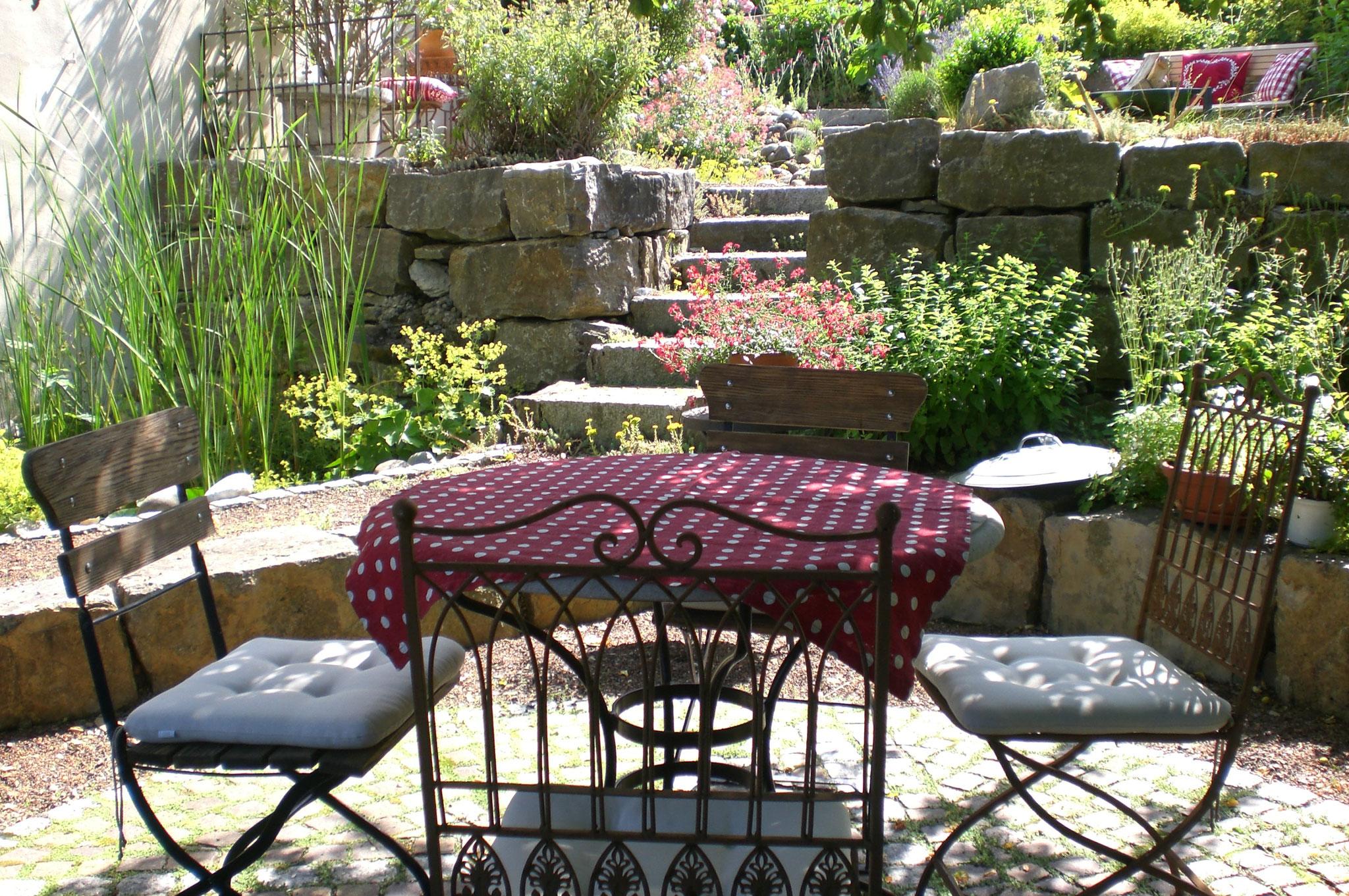 Ferienwohnung Scheidegg | Der Garten