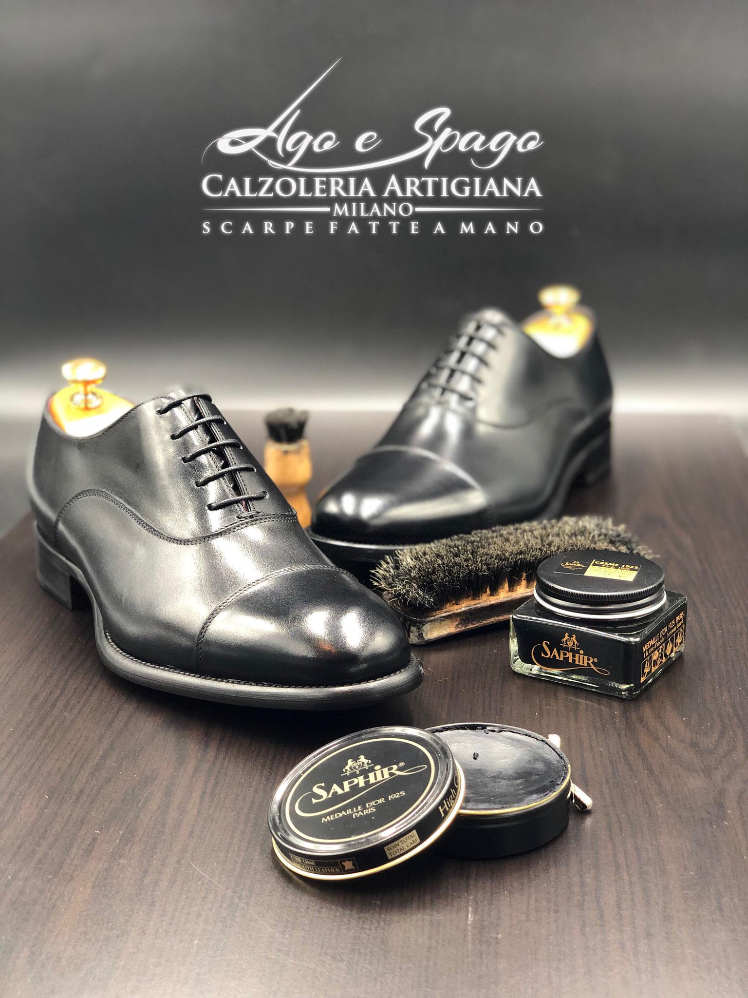 factory price 47949 d4d6d Scarpe artigianali fatte a mano Milano - Ago e Spago Milano ...
