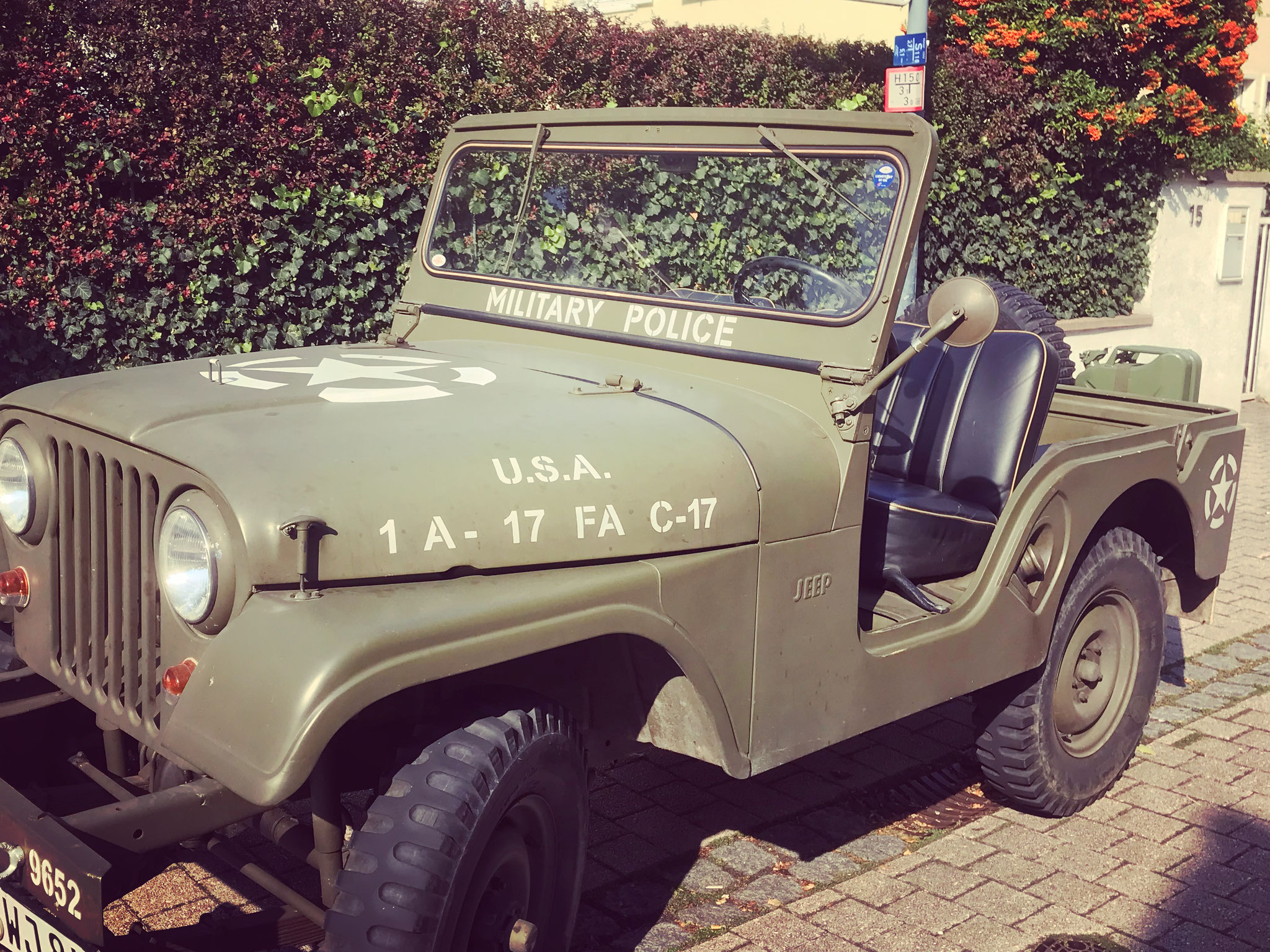 Carspotting Speyer: Willys Jeep