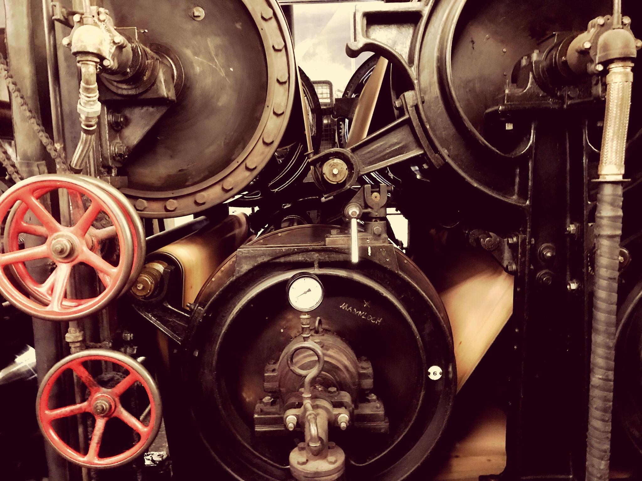 Papiermaschine von 1828 immer noch in Betrieb - Gmünder Papierfabrik