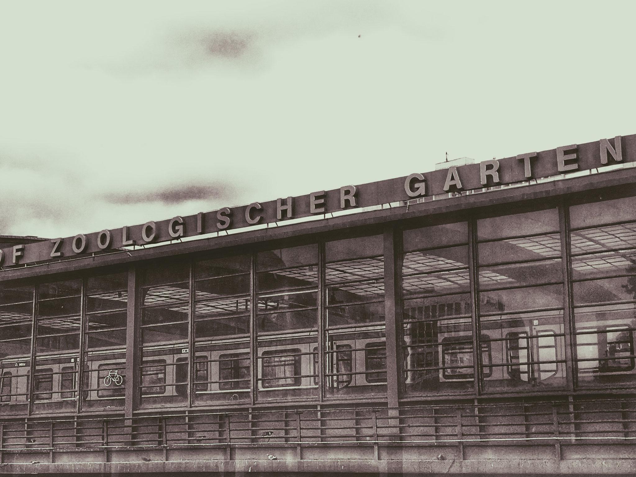 Berlin Bahnhof Zoo. 2018