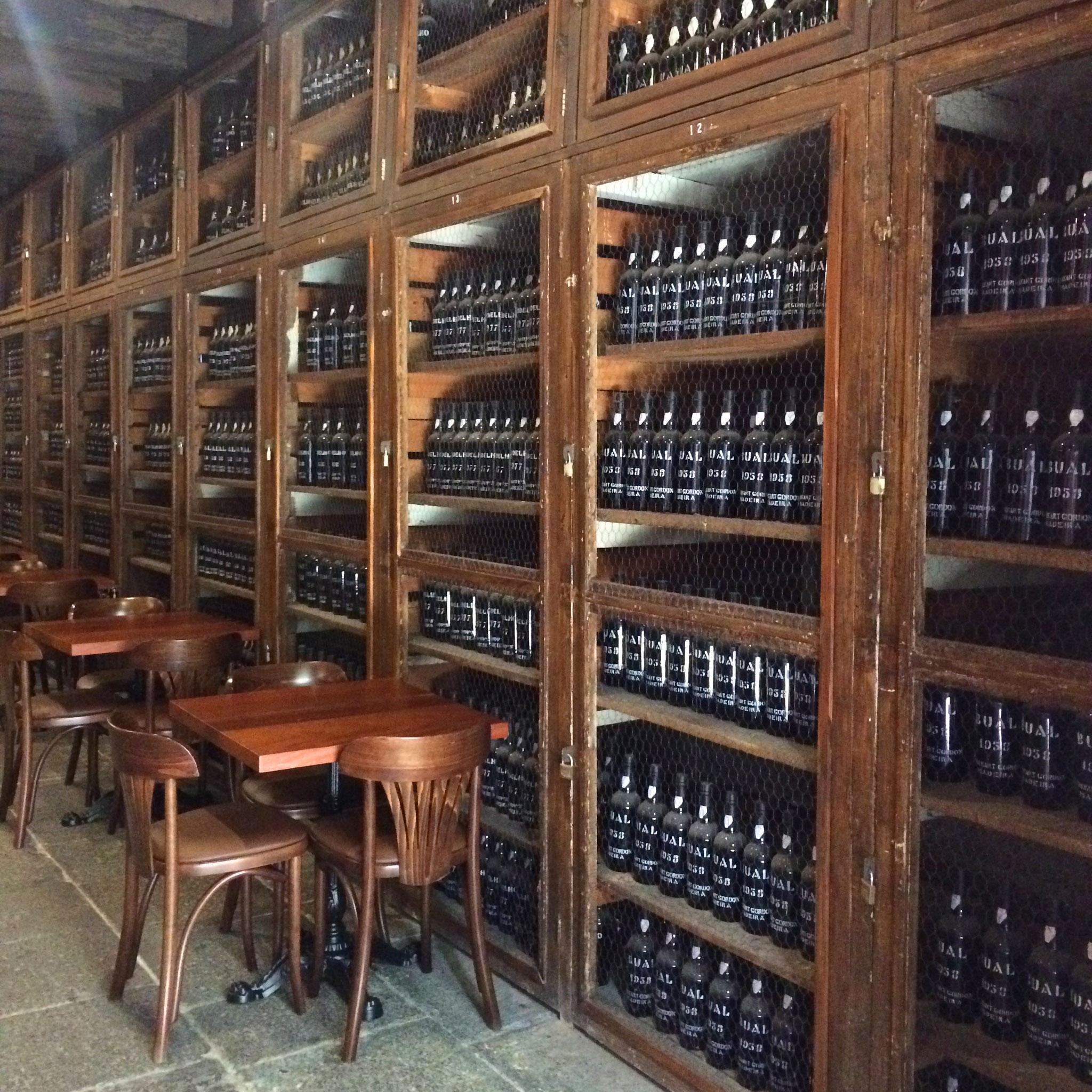 Madeira wine cellar