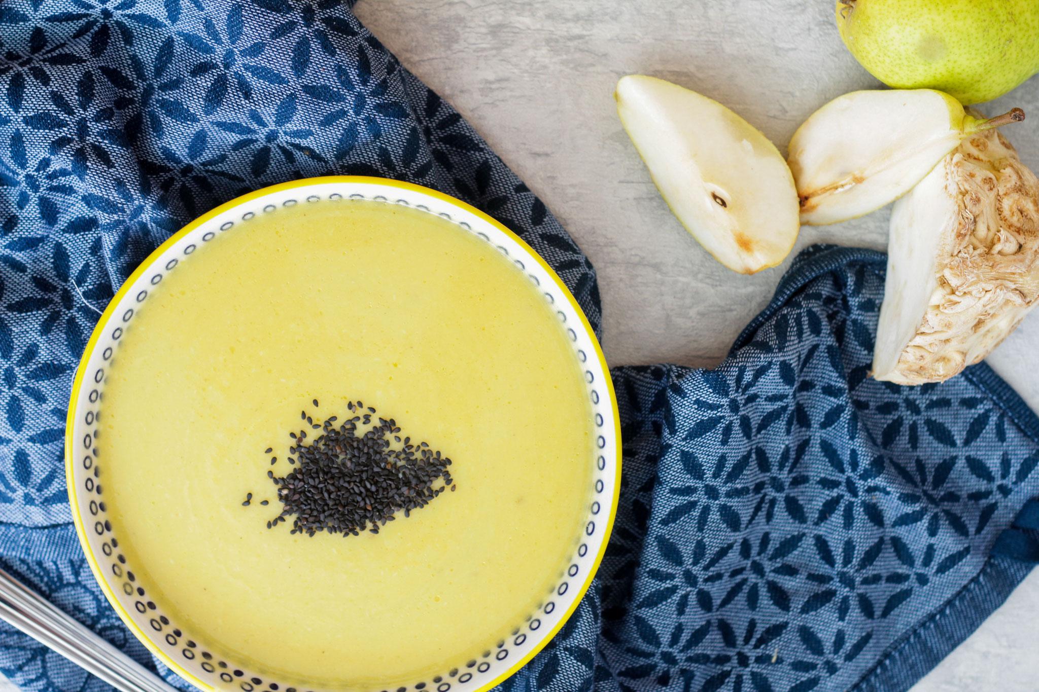 Zeller-Birnen-Suppe