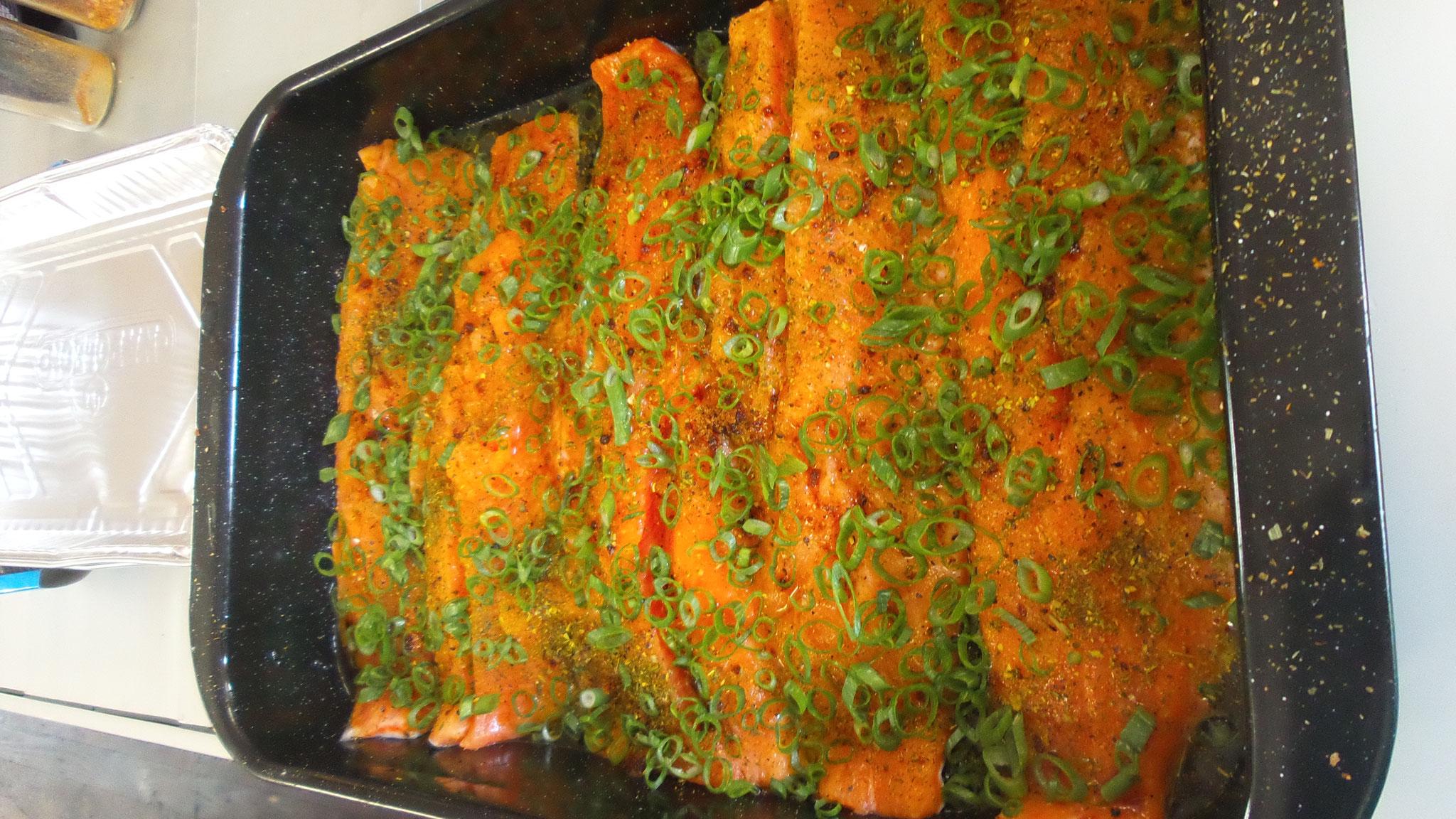 Lachs BBQ Grill ale-x-bbq