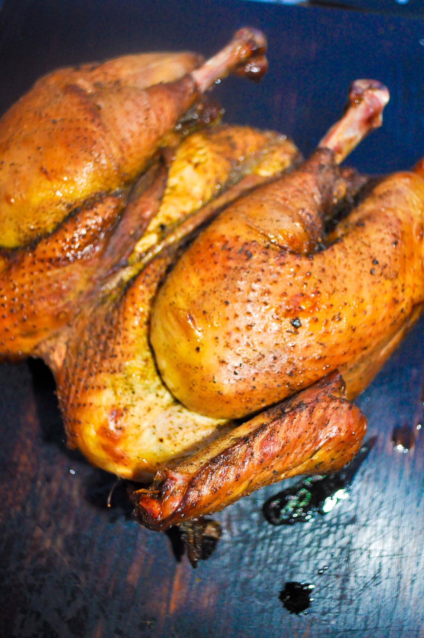 Französisches Schwarzfuß Huhn ALE-X-BBQ