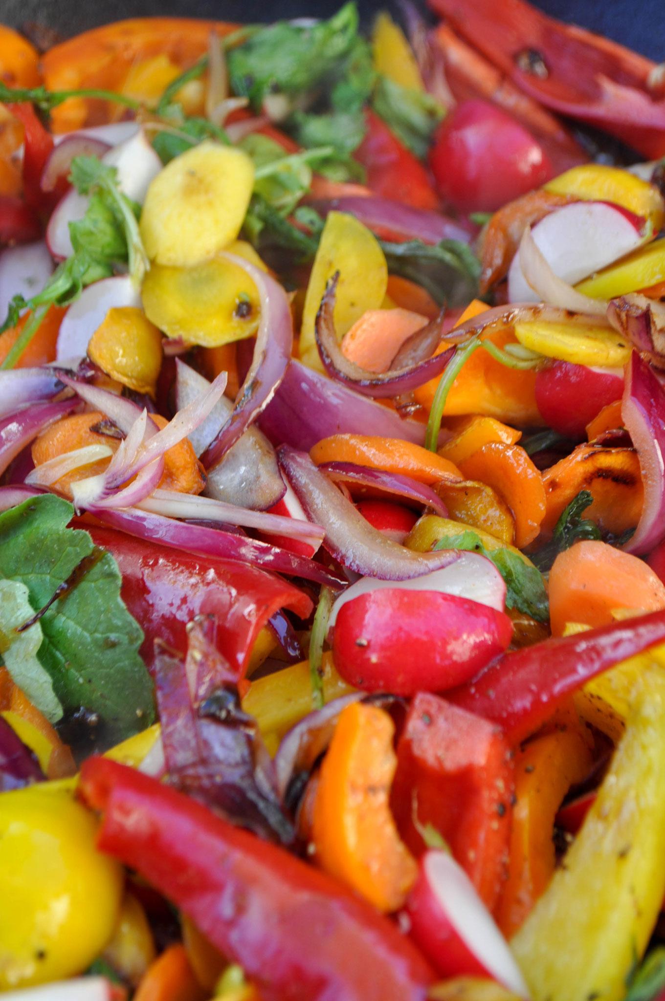 Grill Gemüse  ALE-X-BBQ