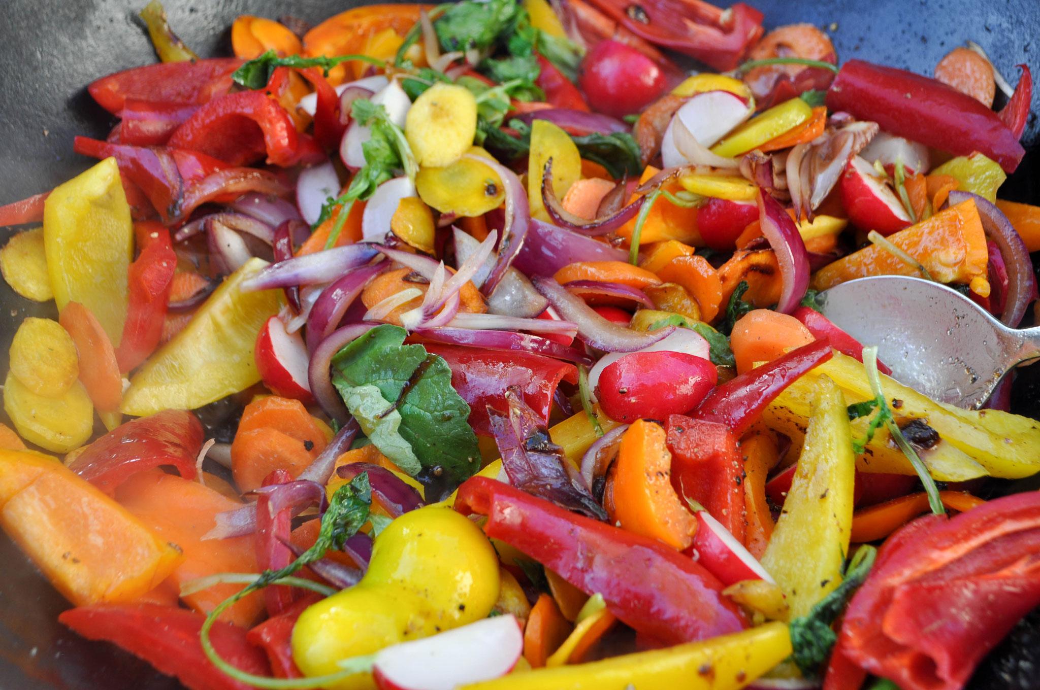 mediteraner Gemüsesalat  ALE-X-BBQ