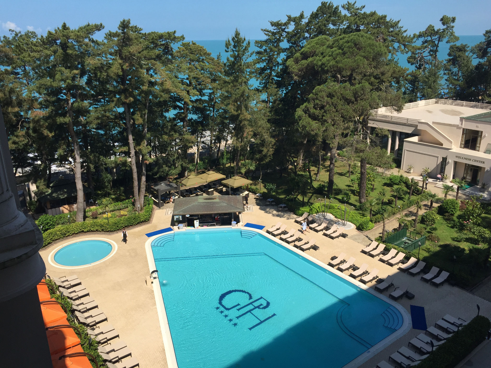 Pool im Georgia Palace
