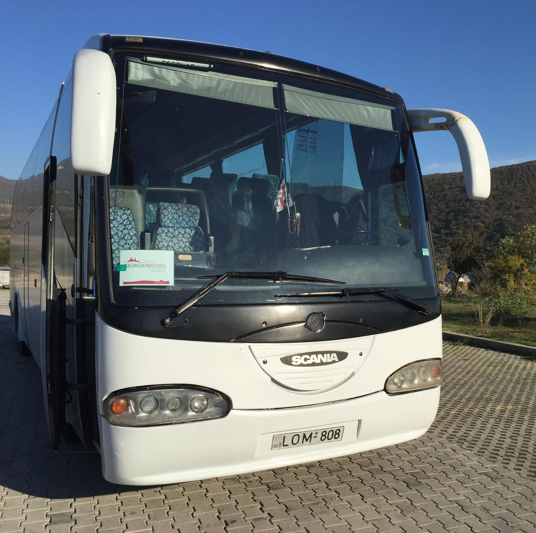 Unsere Reisebus