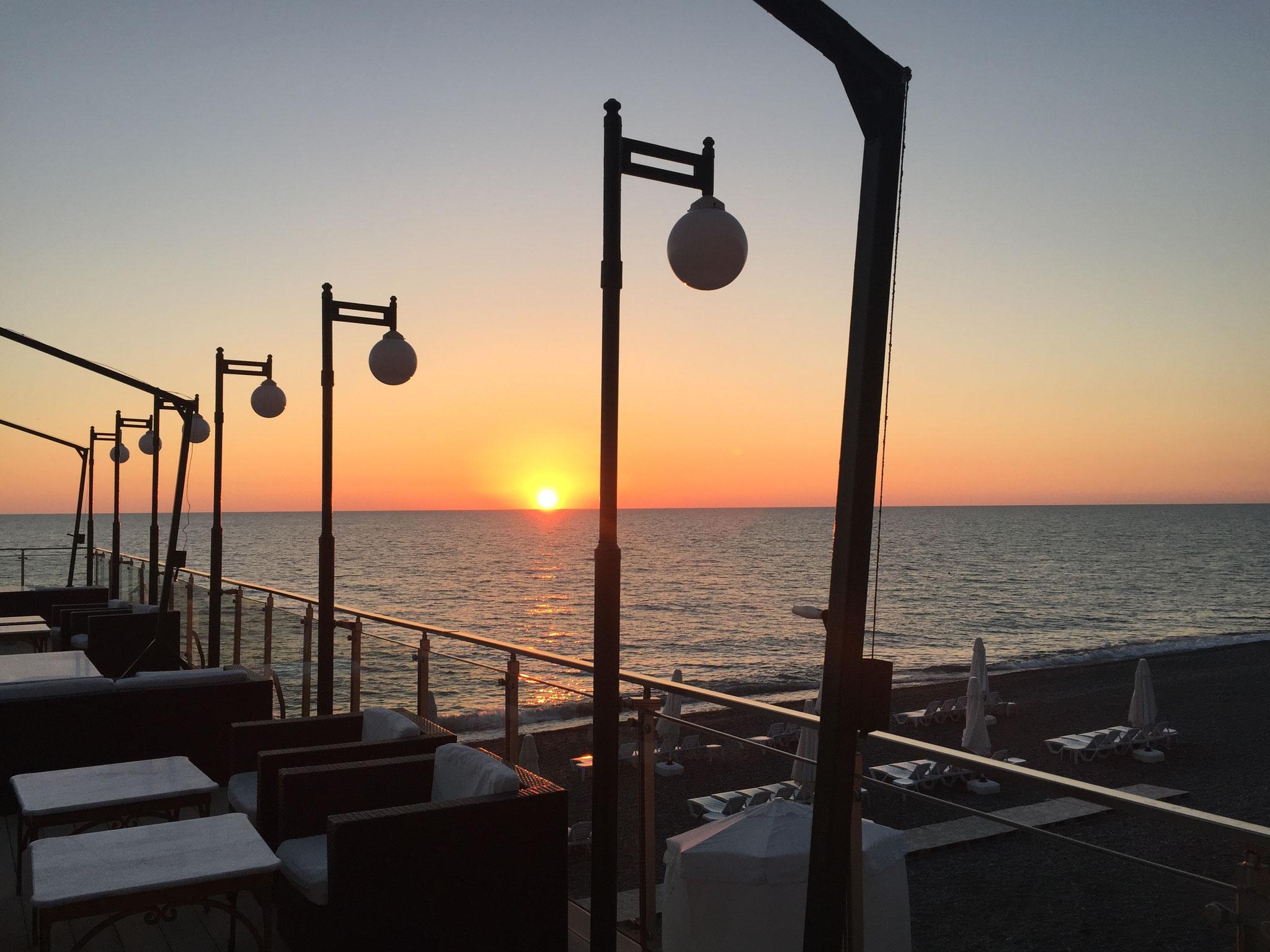 Sonnenuntergang am Schwarzen Meer