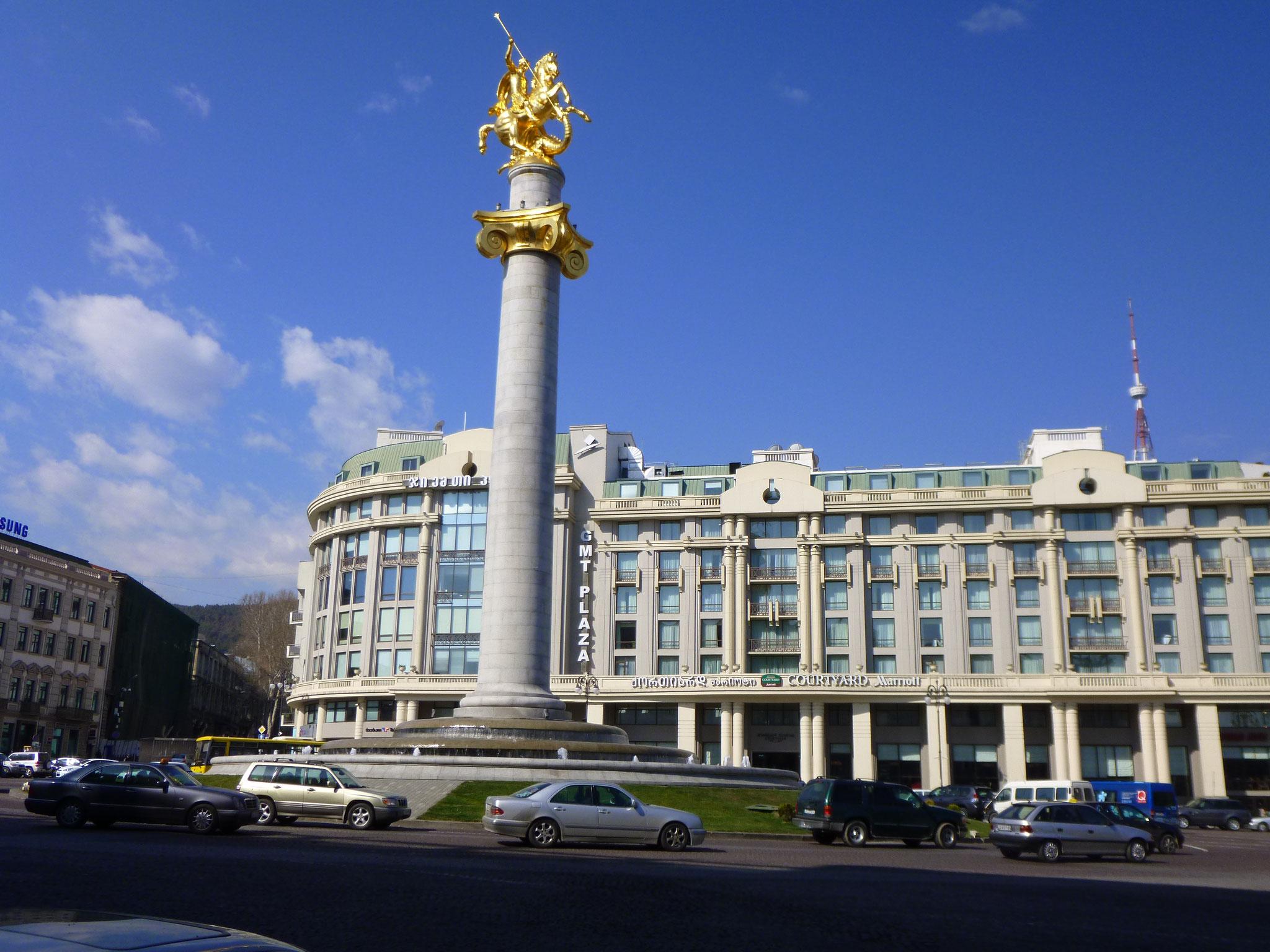 Freiheitsplatz Tiflis / Tbilissi