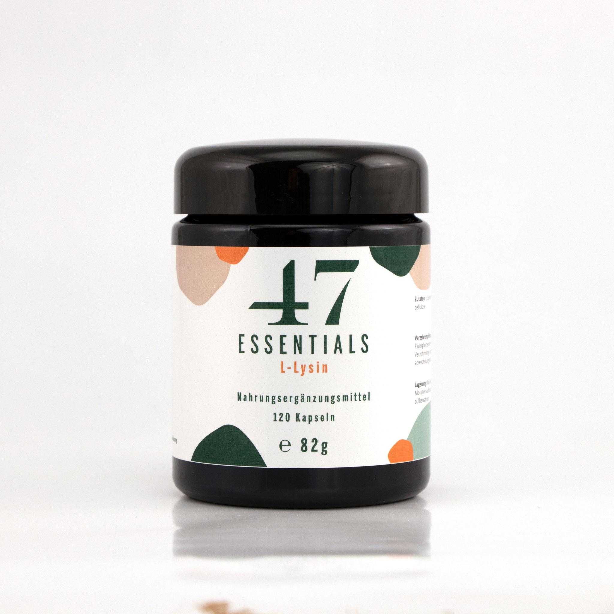 L Lysin 120 Kapseln (Entzündung? Nein danke)     € 25,00           Klicken Sie hier um mehr über das Produkt zu erfahren