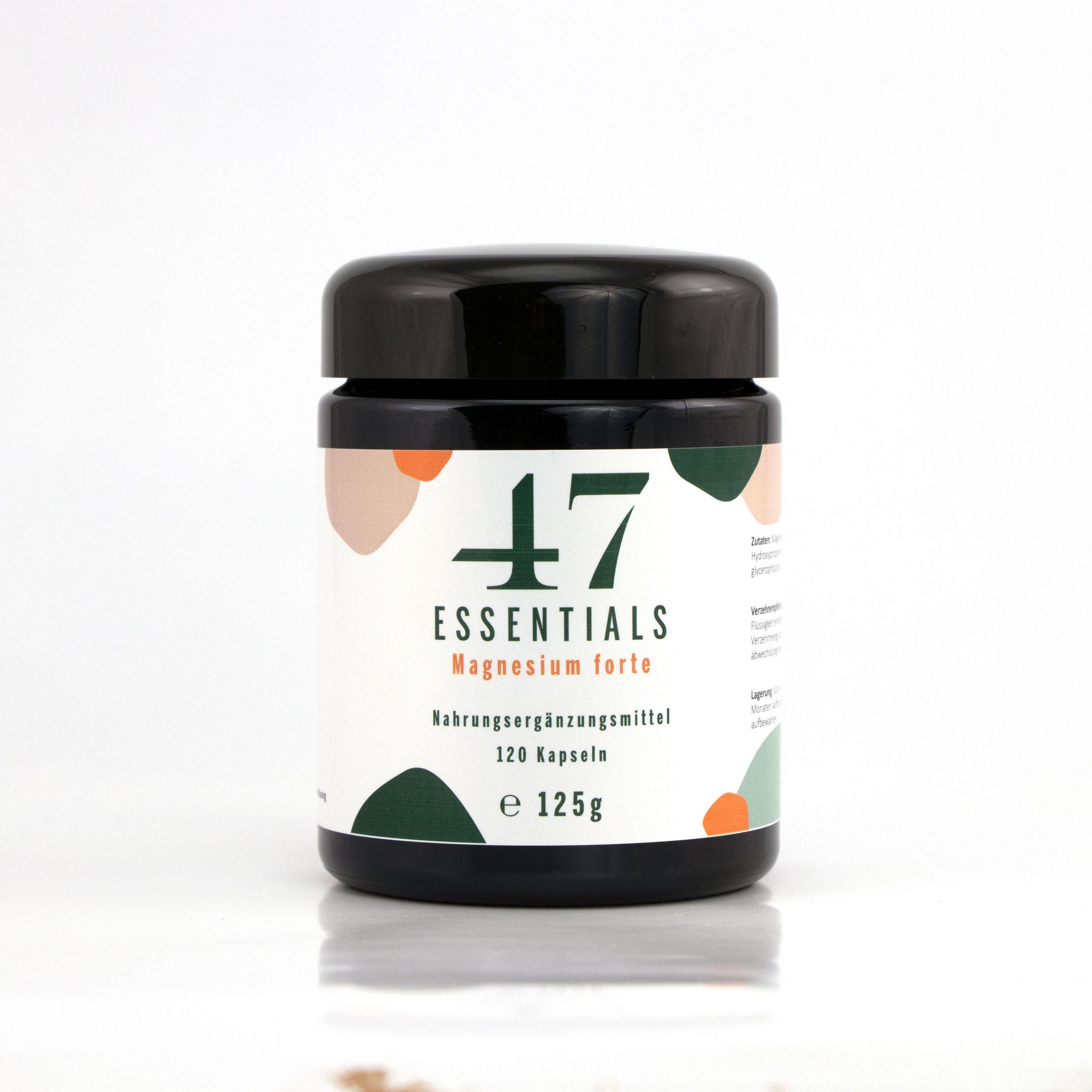 Magnesium forte 120 Kapseln (Das Salz der Ruhe)     € 30,00           Klicken Sie hier um mehr über das Produkt zu erfahren