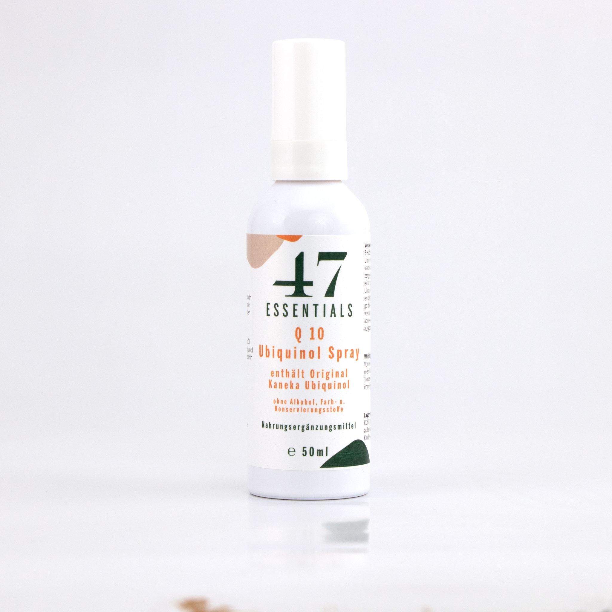 Q 10 Spray 50 ml (Der Powerstoff für die Zelle)     € 132,00           Klicken Sie hier um mehr über das Produkt zu erfahren