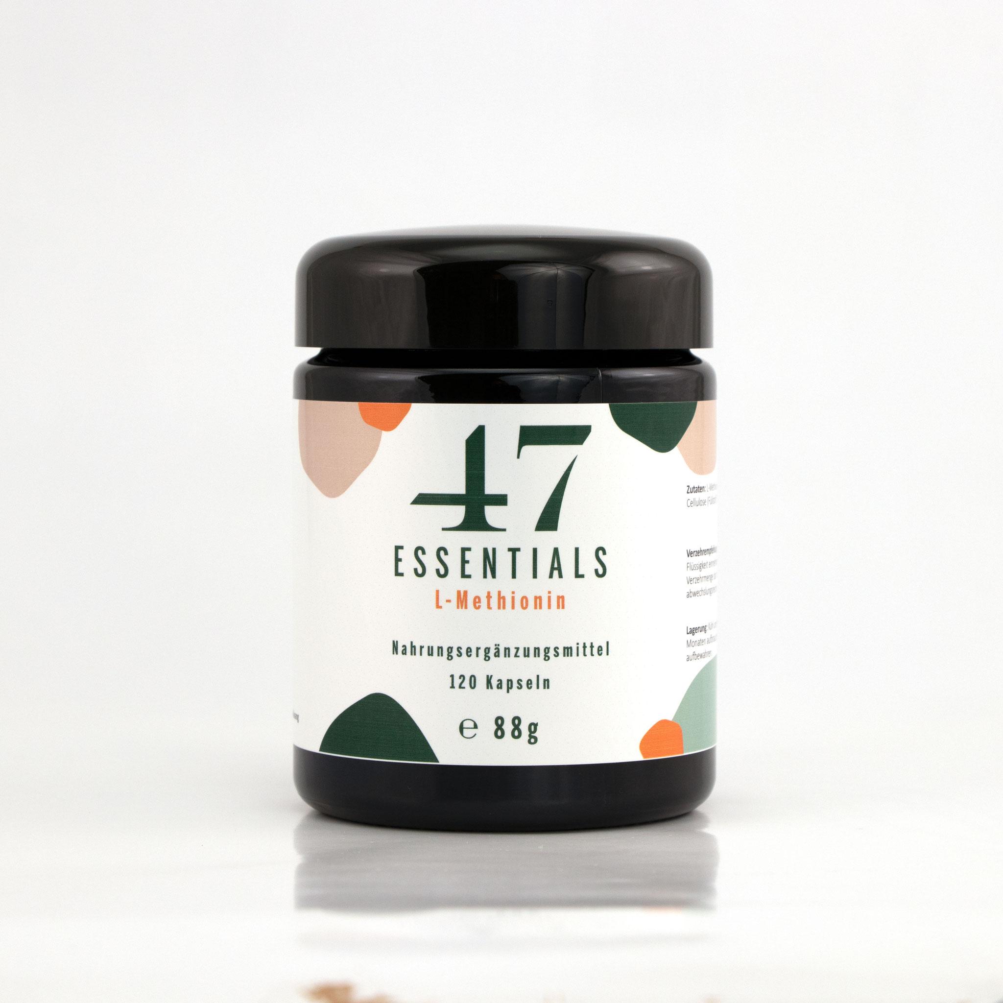 L Methionin 120 Kapseln (Das Leben ist schon schwer genug)     € 29,00           Klicken Sie hier um mehr über das Produkt zu erfahren