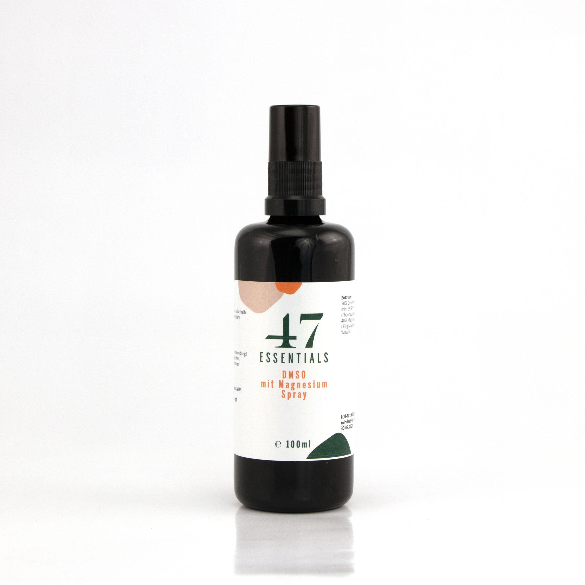 DMSO mit Magnesium Spray 100ml (Locker und entspannt)     € 19,90          Klicken Sie hier um mehr über das Produkt zu erfahren