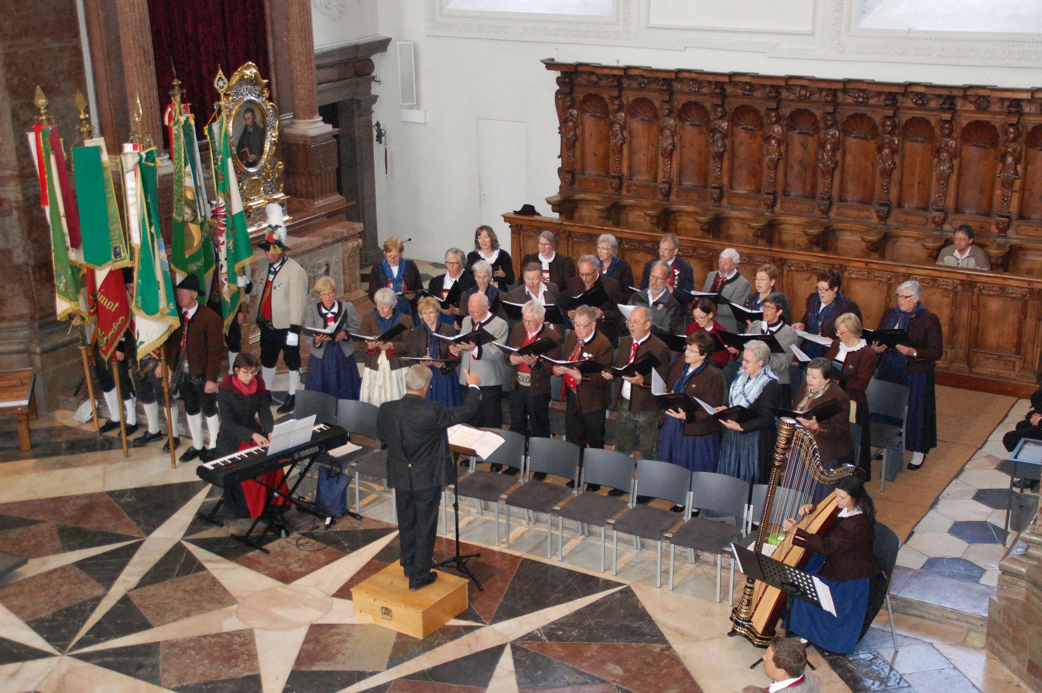 Chor mit allen Mitwirkenden
