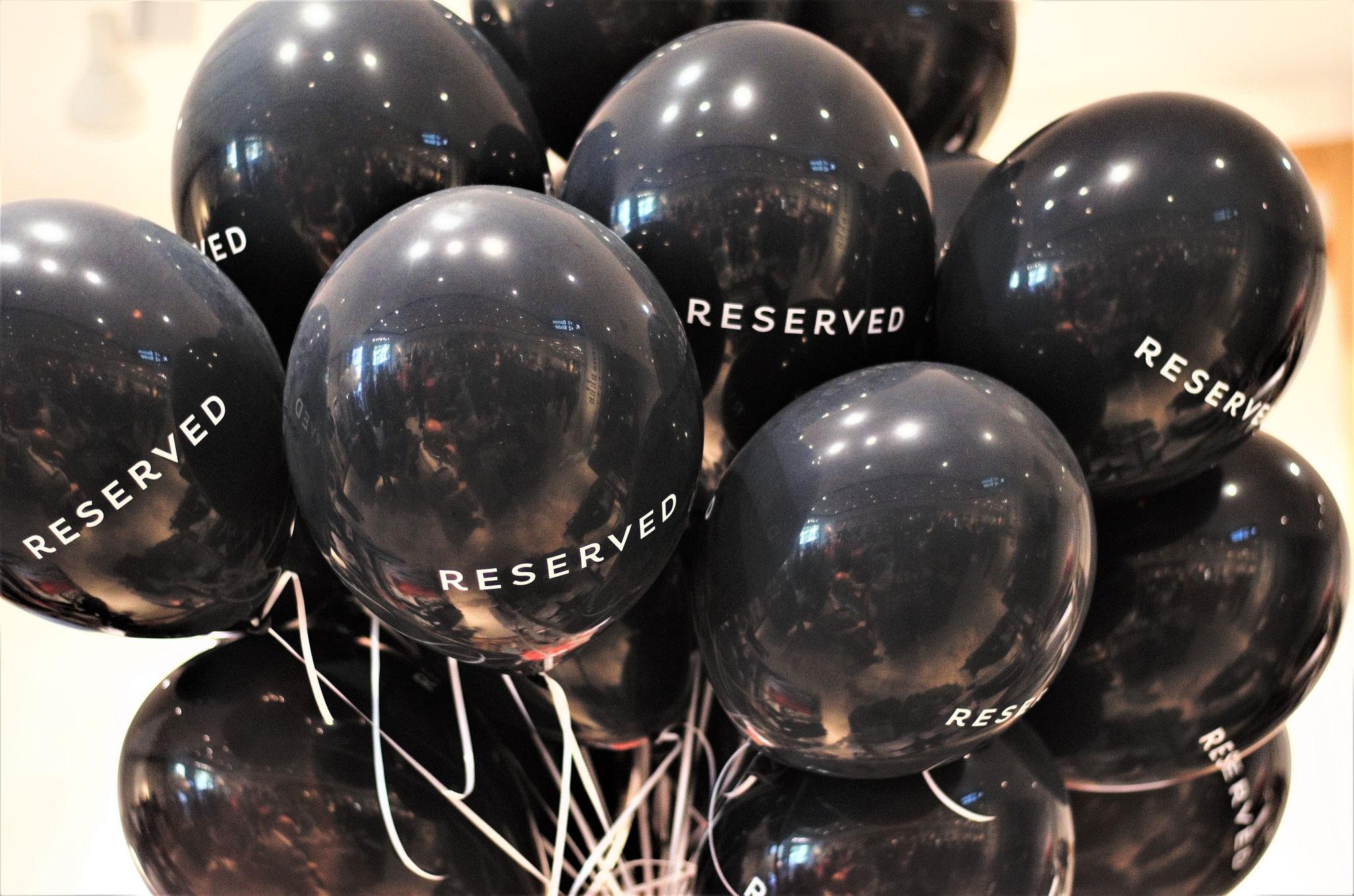 Die Ballons, die wir uns für das kleine Outdoor-Shooting geschnappt haben
