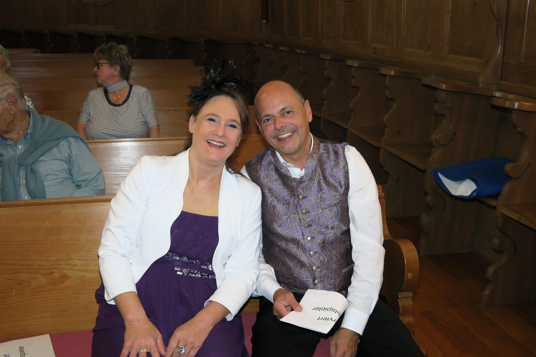 Friedlinde und Rafael Engeser-Raffin aus Überlingen D