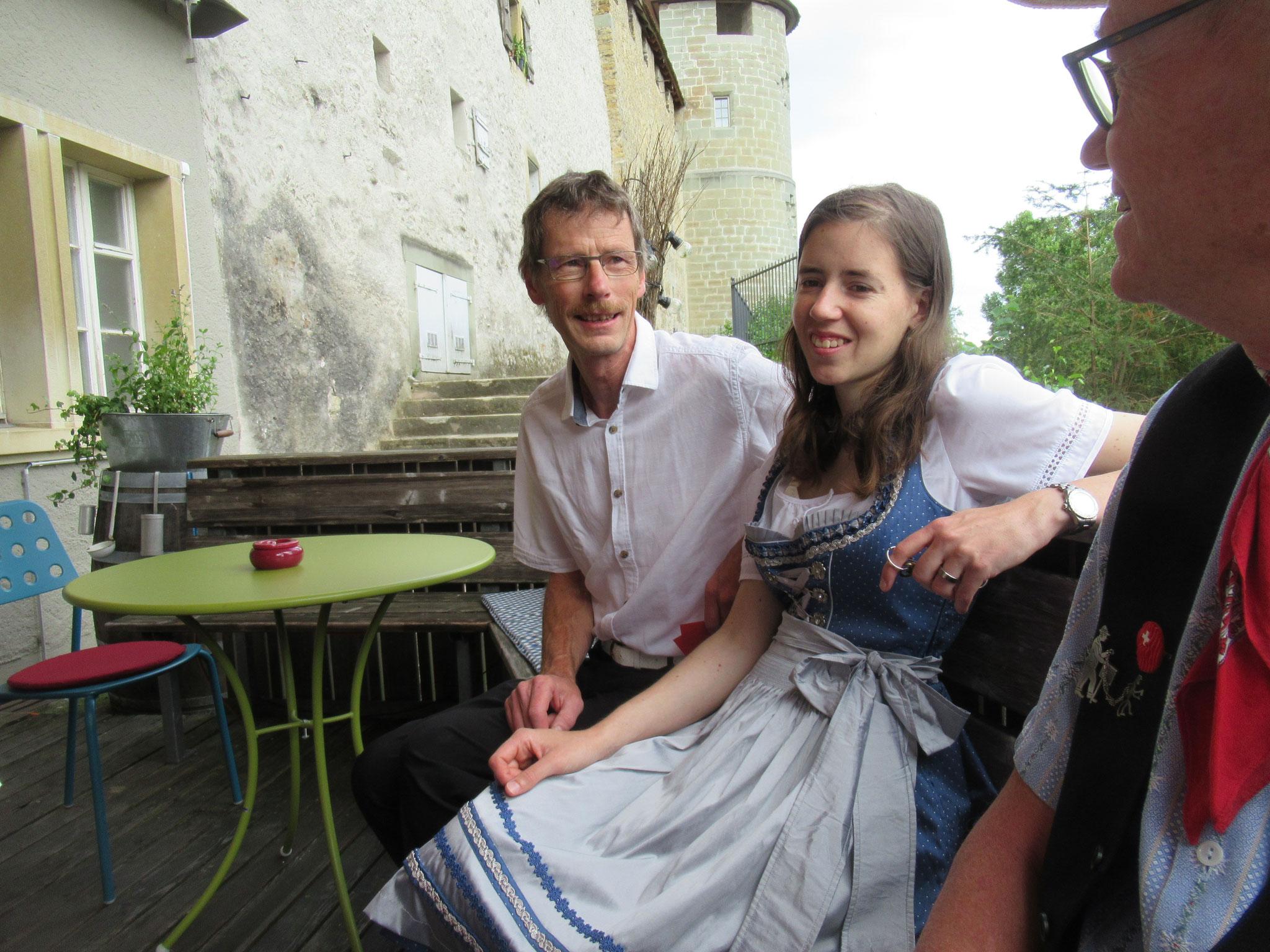 Thomas und Miryam Schumacher aus Lyssach