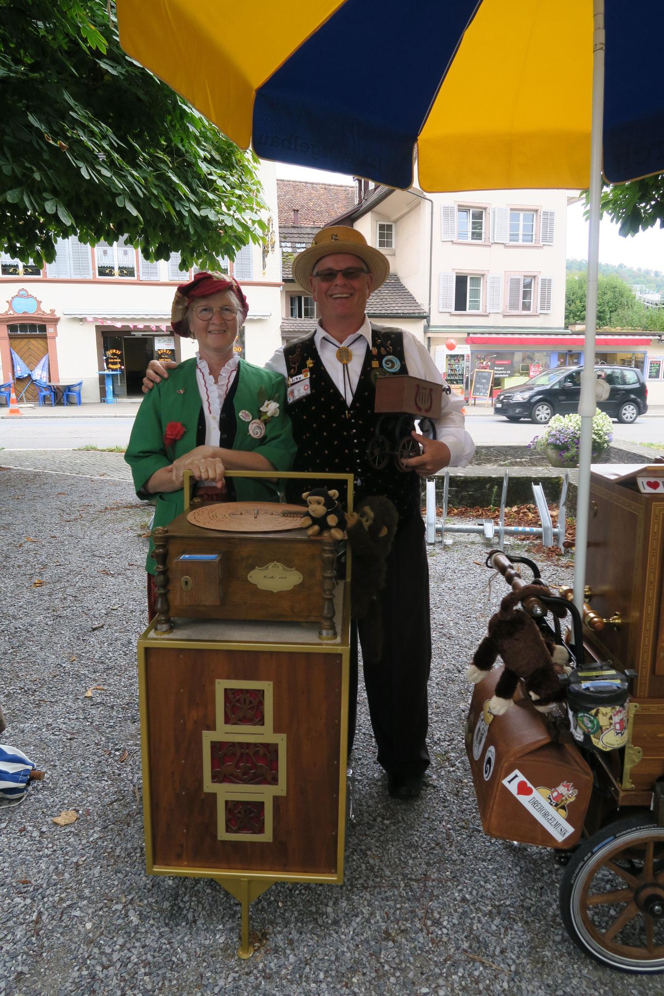 Esthi und Dani Widmer aus Basel