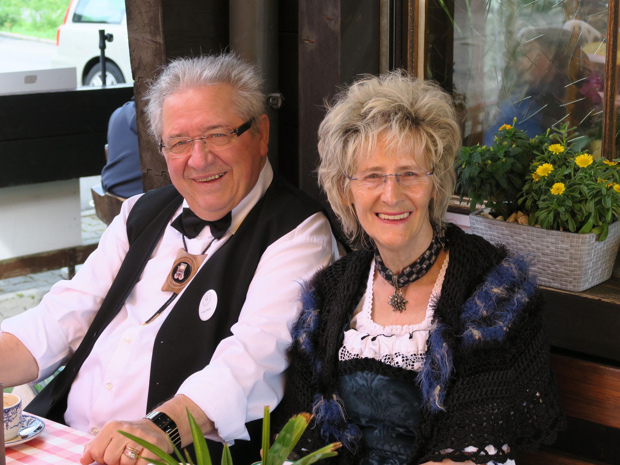 Gody und Helen Suter: Das fröhliche Drehorgelpaar aus Solothurn