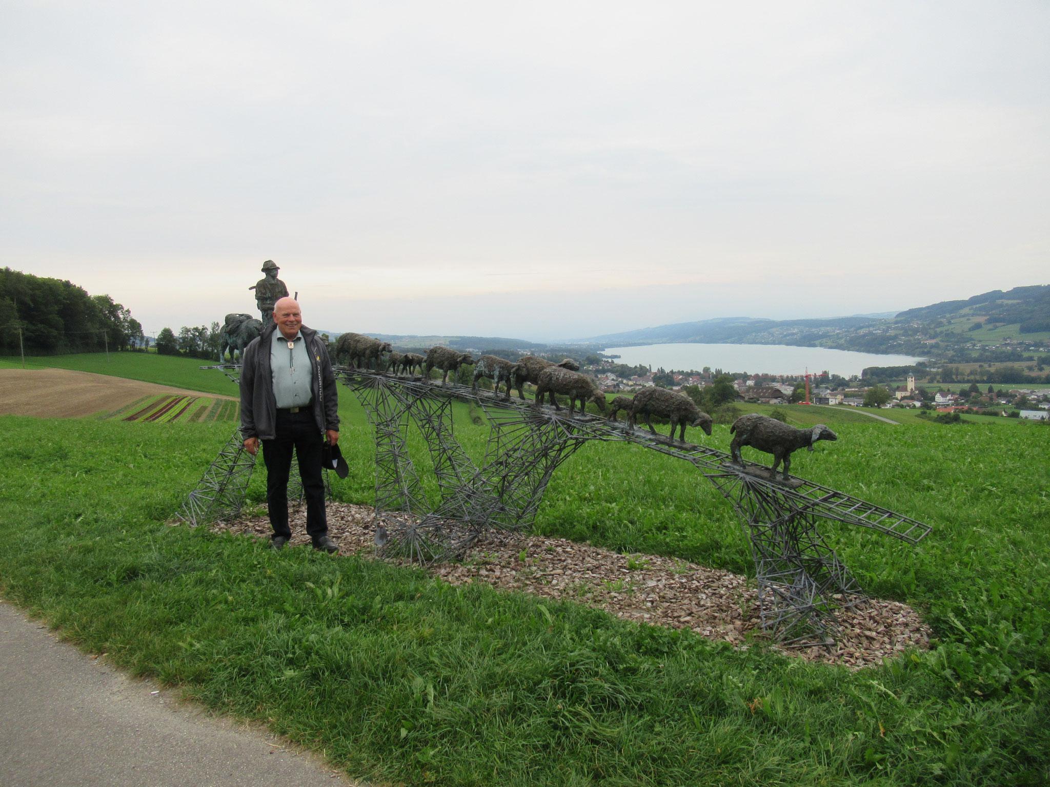 Hanspeter Wullschleger; Er führte die Schifferzunft bis zum Jahr 2017 sechzehn Jahre lang.